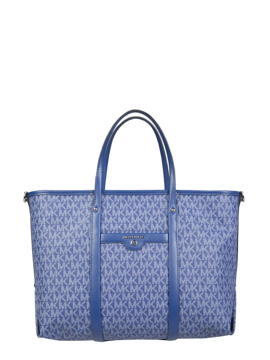 Michael Kors MICHAEL KORS WOMEN'S 30H0SKNT2B453 BLUE OTHER MATERIALS HANDBAG