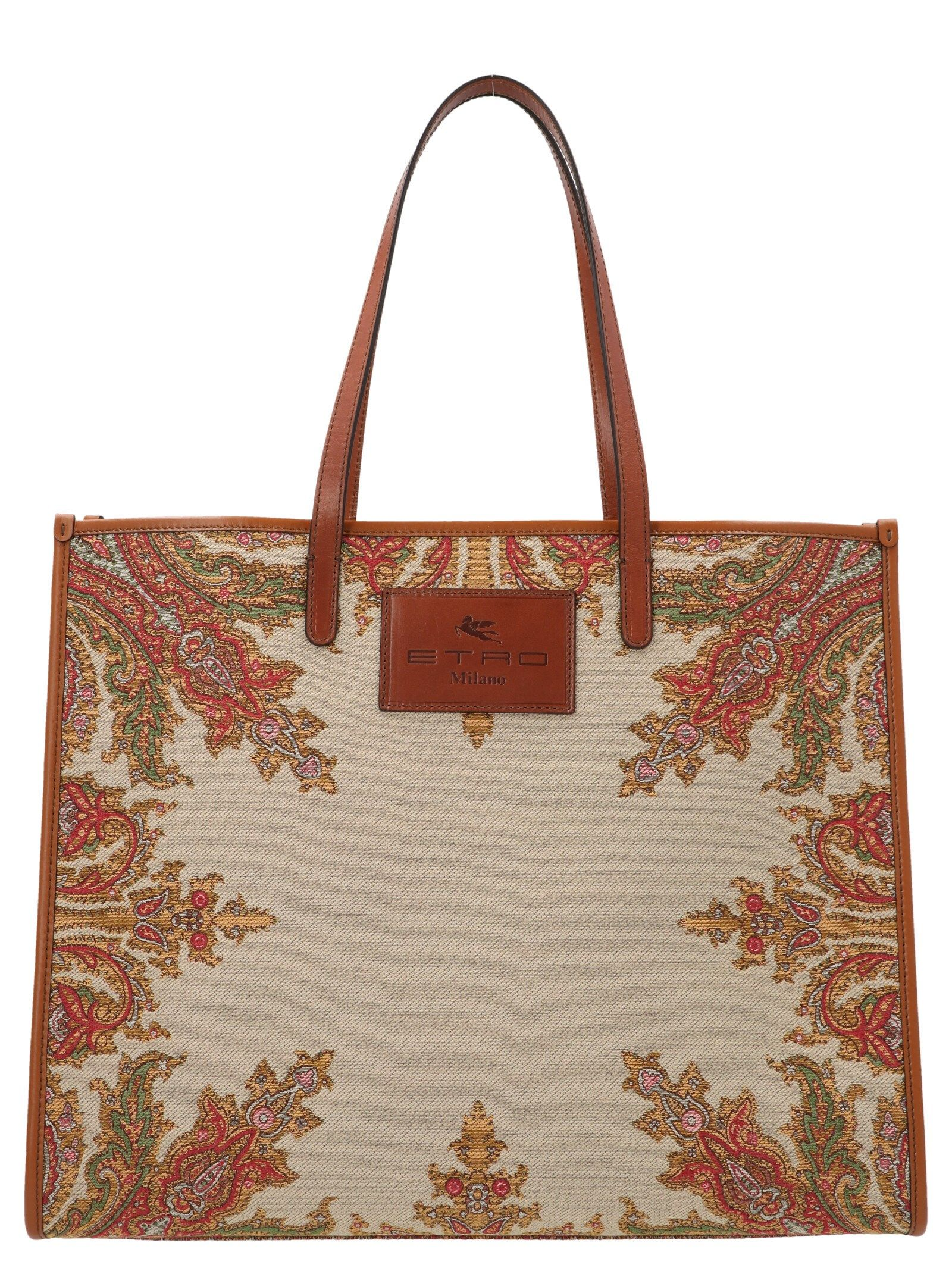 Etro ETRO WOMEN'S 1N00988600800 MULTICOLOR OTHER MATERIALS TOTE