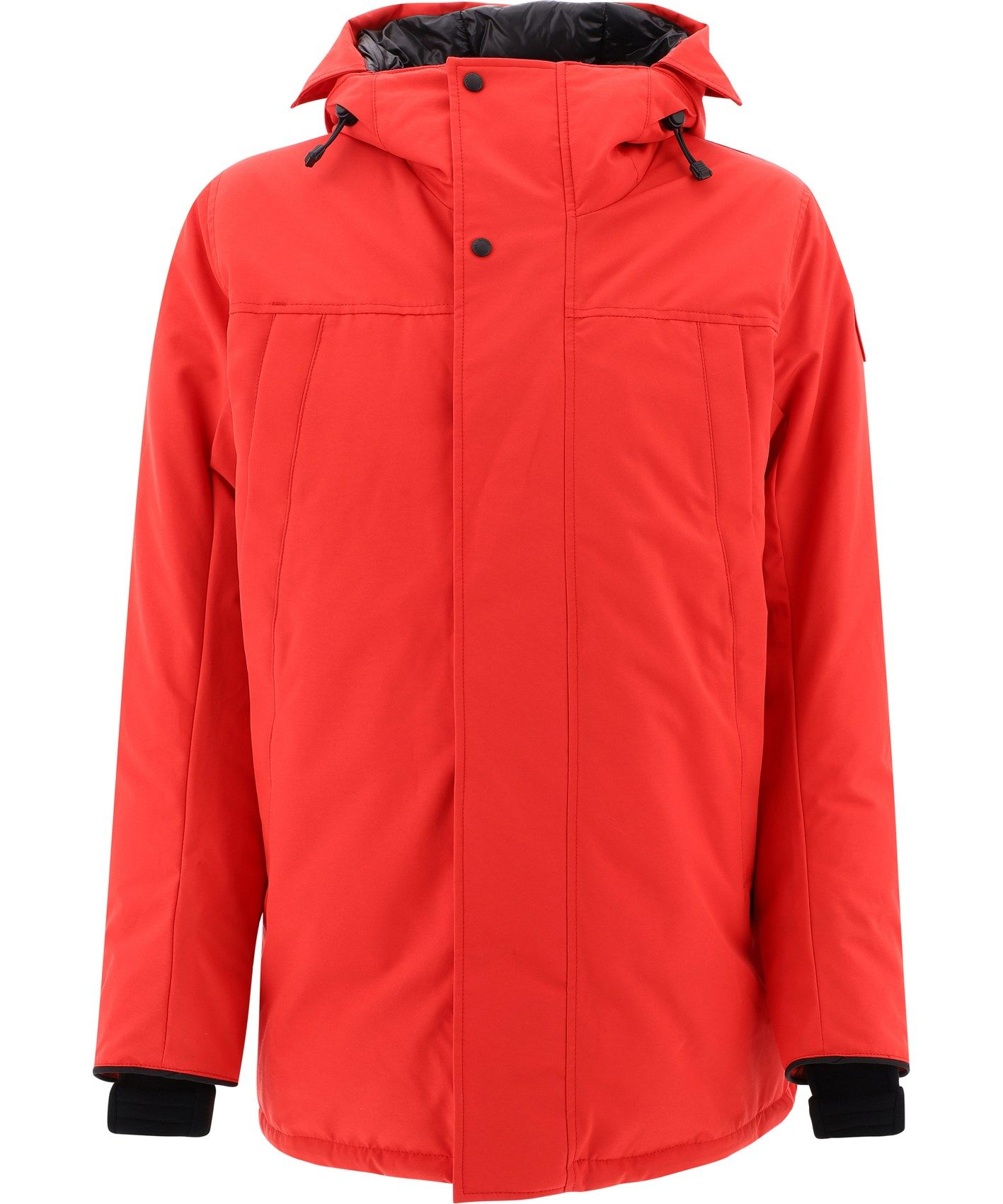 Canada Goose Cottons CANADA GOOSE MEN'S 3400M11 RED POLYESTER OUTERWEAR JACKET