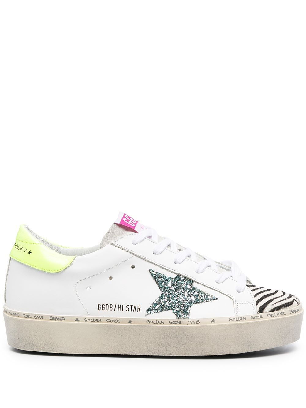 Golden Goose GOLDEN GOOSE WOMEN'S GWF00118F00023180247 WHITE LEATHER SNEAKERS