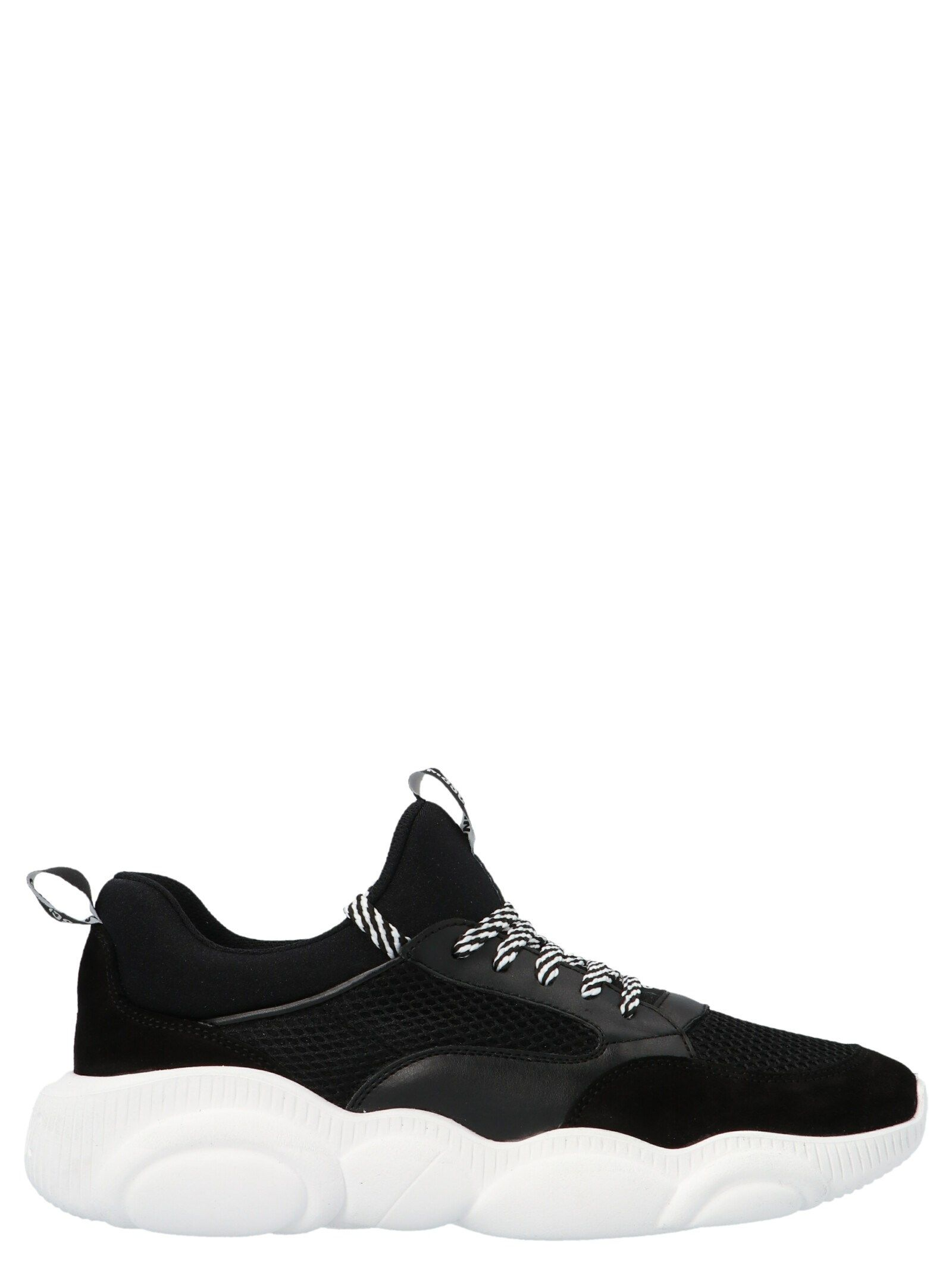Moschino MOSCHINO WOMEN'S MA15103G1CMQ100A BLACK OTHER MATERIALS SNEAKERS