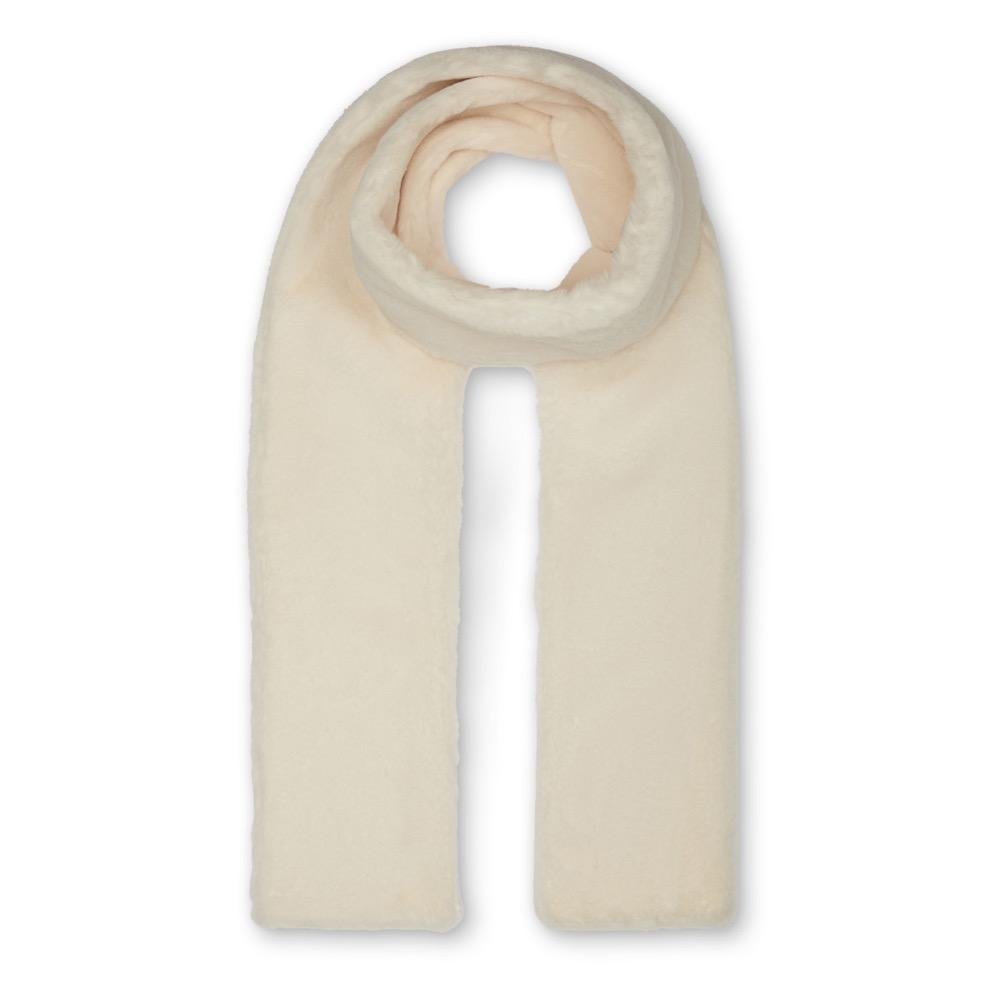 Nooki Anna Double Layer Scarf - Cream In Neutral