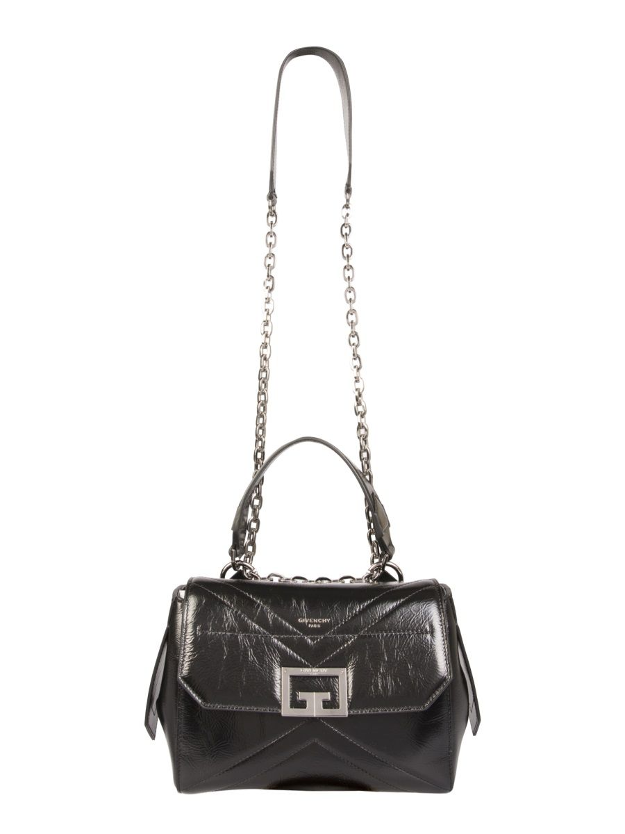Givenchy GIVENCHY WOMEN'S BB50FAB102001 BLACK OTHER MATERIALS HANDBAG