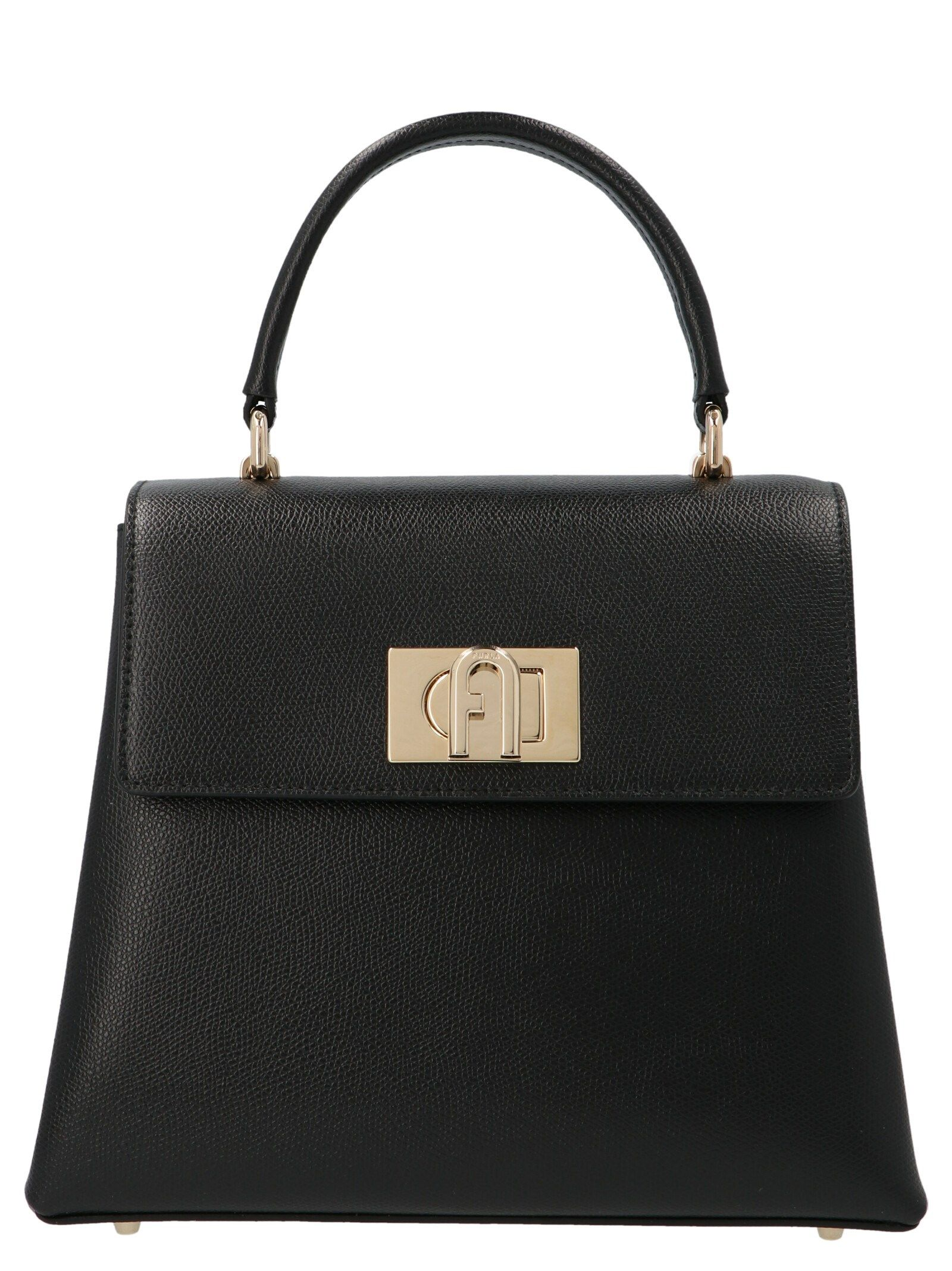Furla FURLA WOMEN'S BAKPACOARE000O6000 BLACK OTHER MATERIALS HANDBAG