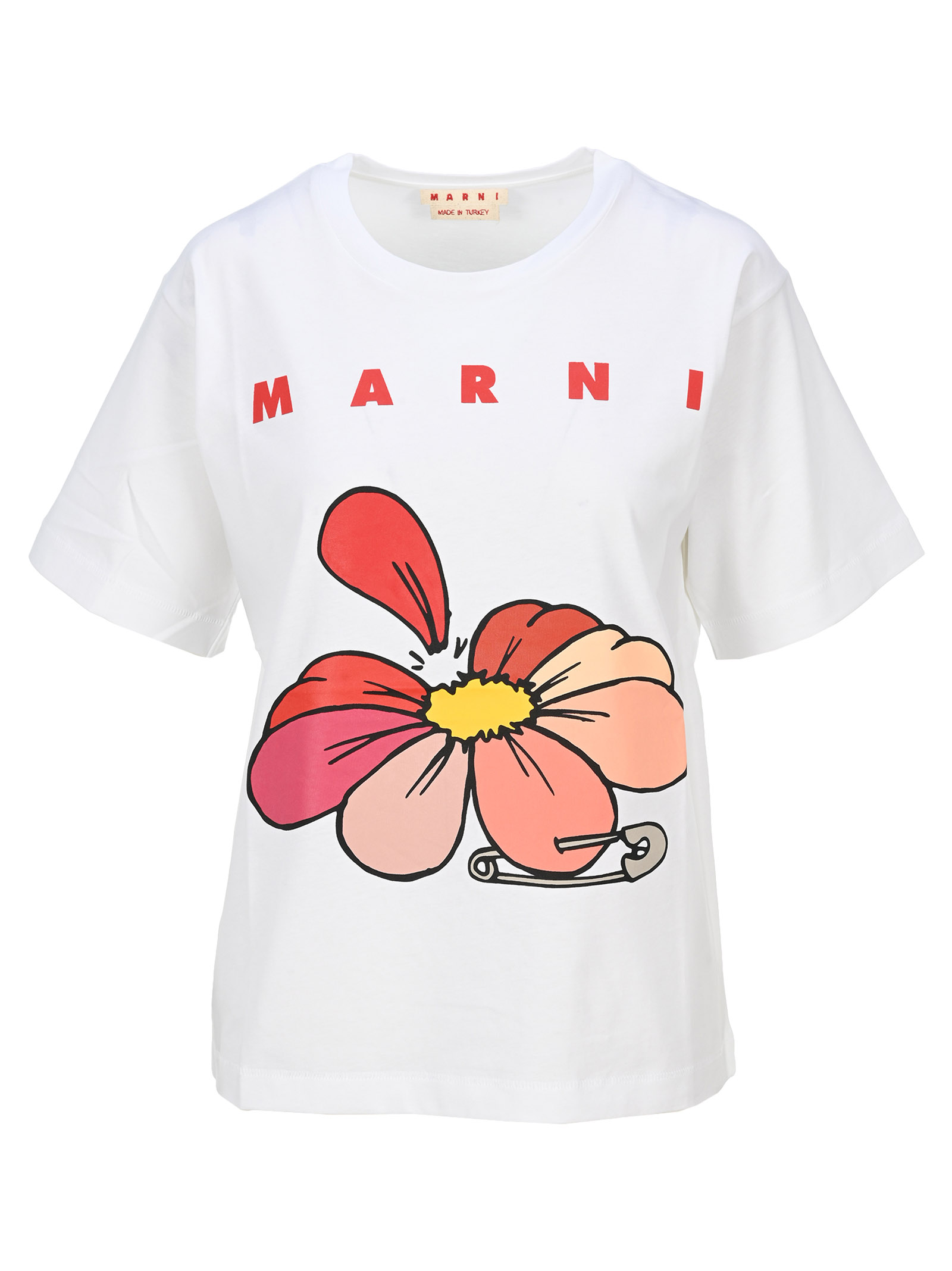 MARNI COTTON JERSEY OVERSIZED T-SHIRT