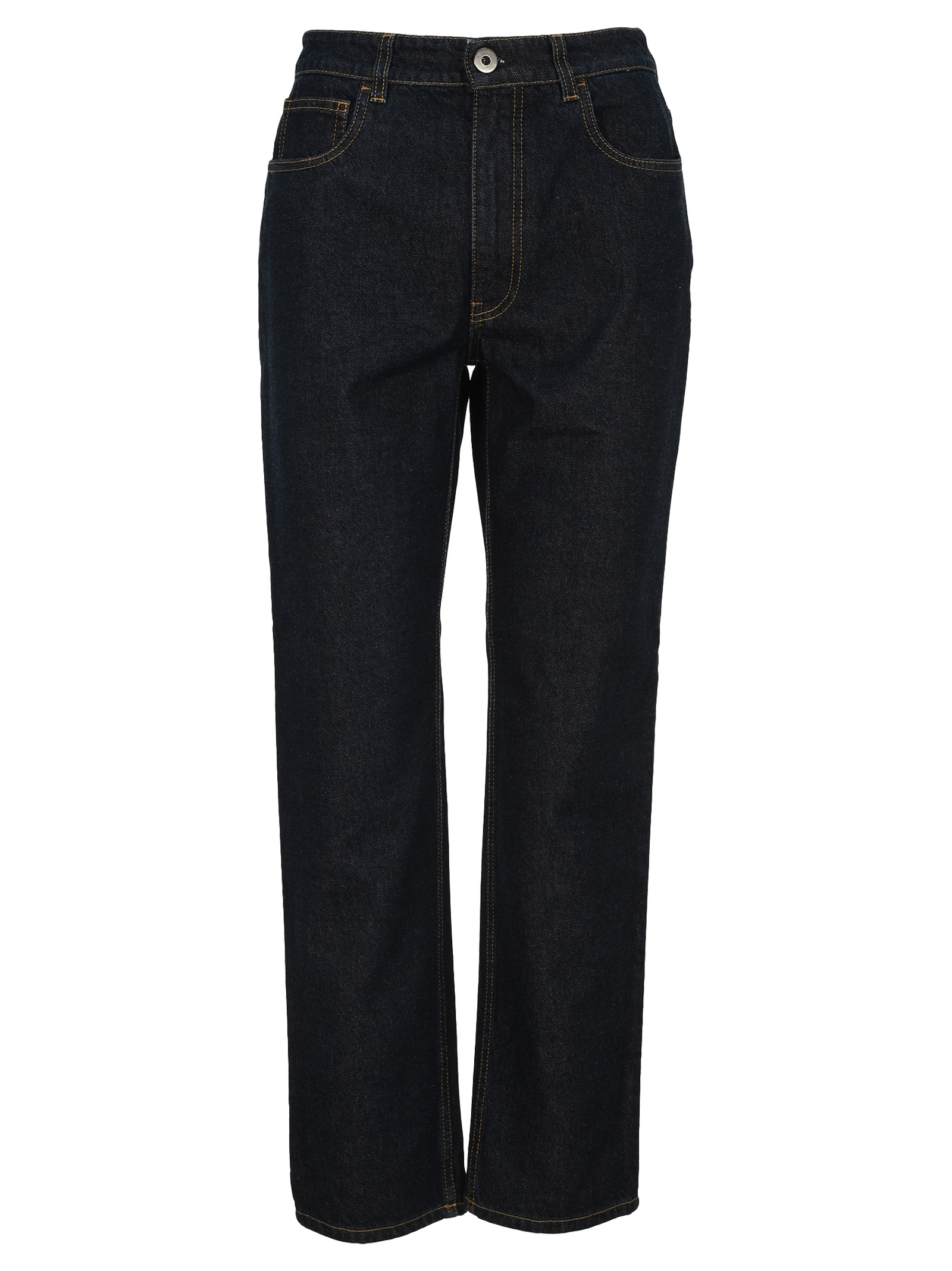 Prada INDIGO DENIM FIVE-POCKET JEANS