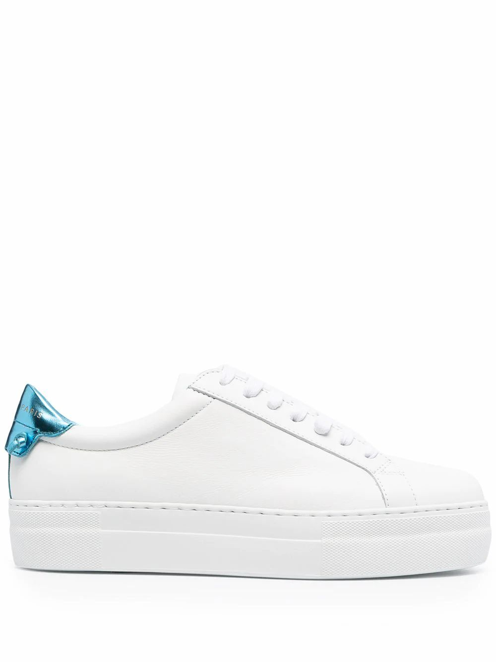 Givenchy Leathers GIVENCHY WOMEN'S BE001HE0Y2148 WHITE LEATHER SNEAKERS