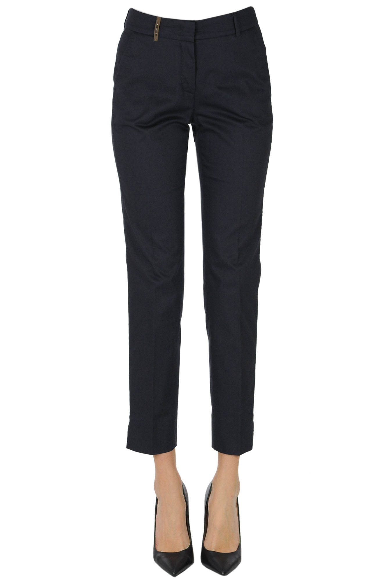 Peserico CHINO COTTON TROUSERS