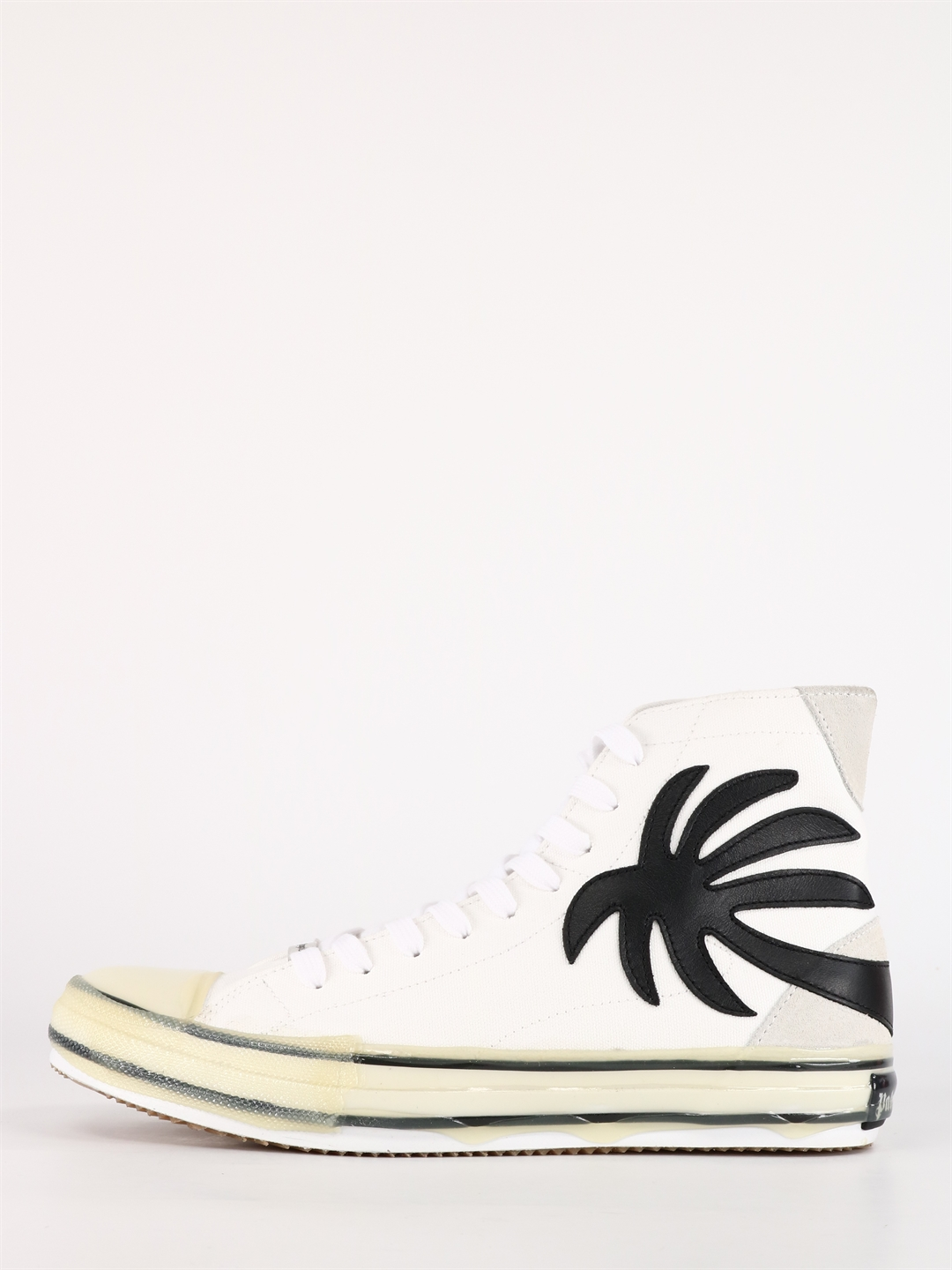 Palm Angels Leathers PALMS SNEAKERS WHITE