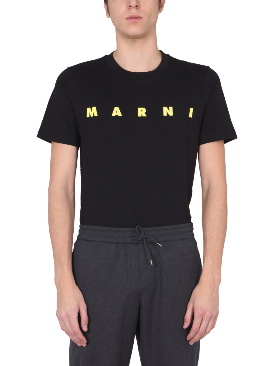 MARNI CREW NECK T-SHIRT
