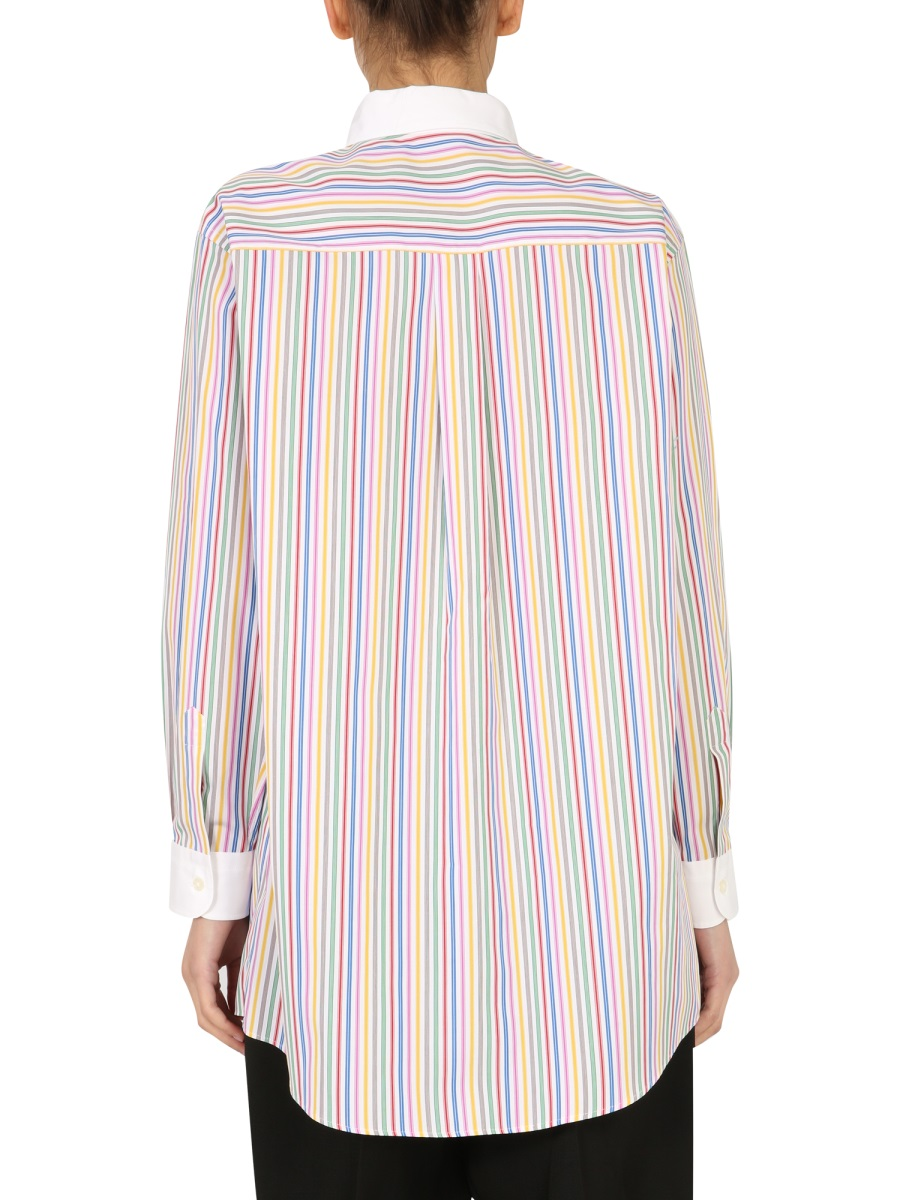 Etro Cottons GE01 STRIPED SHIRT