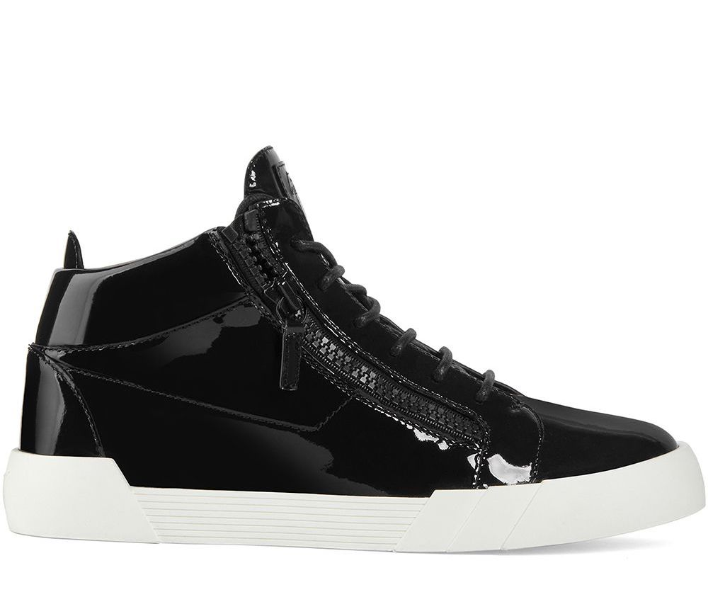 Giuseppe Zanotti THE SHARK 5.0 HIGH-TOP SNEAKERS