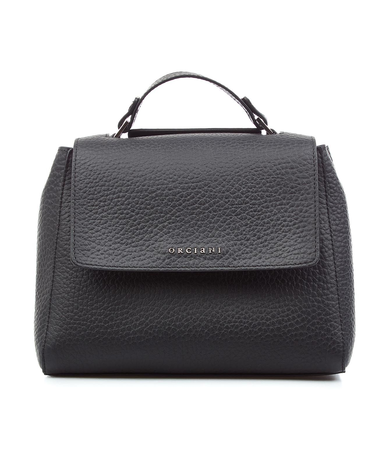 Orciani Mini Handbag Nappa Leather In Nero