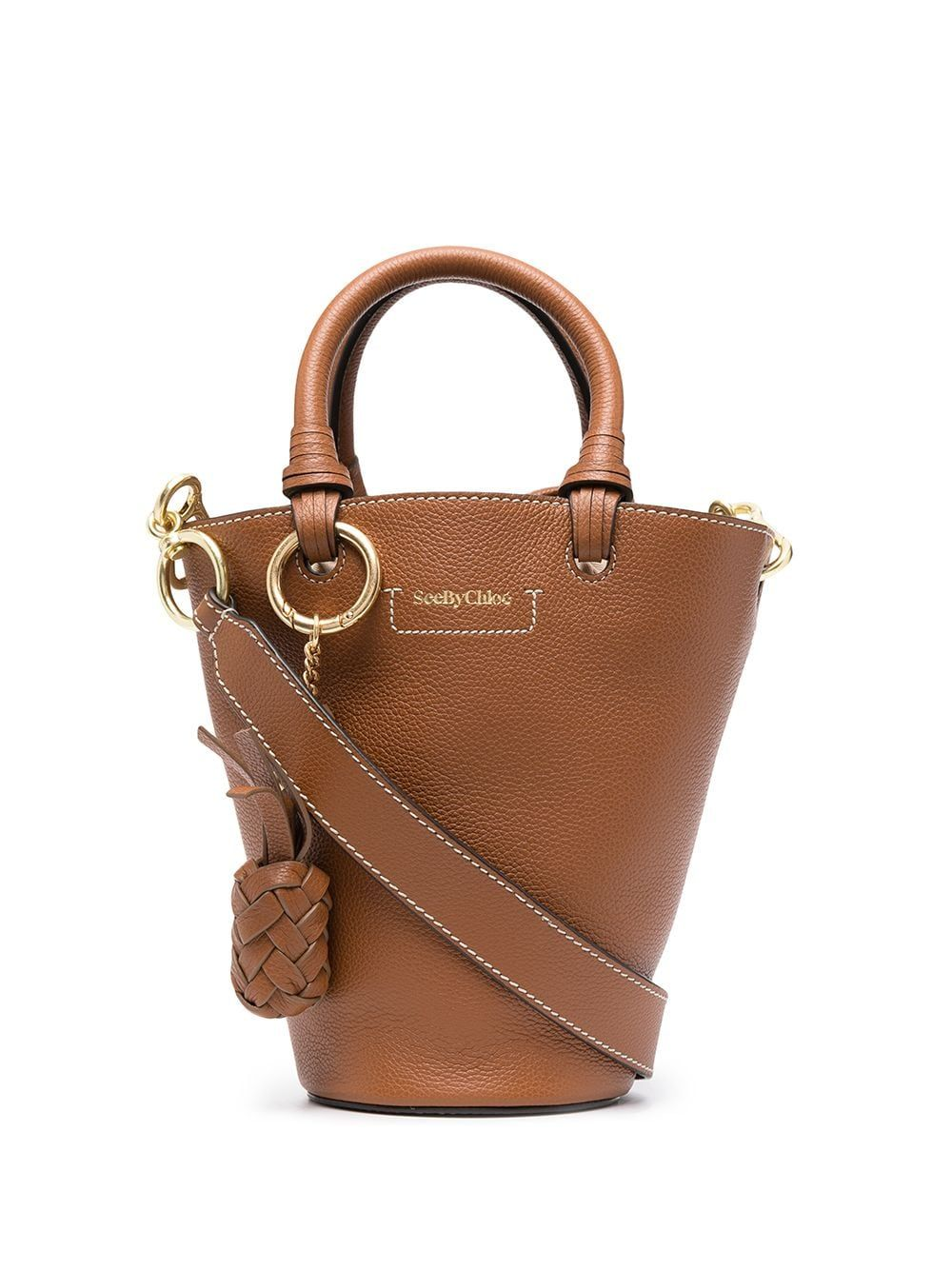 See By Chloé See By Chlo Women's Chs21ssb05912242 Brown Leather Handbag