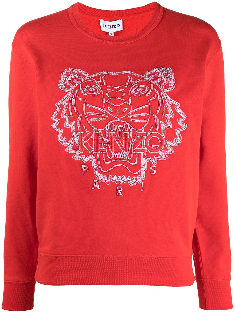 Kenzo KENZO WOMEN'S FB52SW8244MN21 RED COTTON SWEATSHIRT