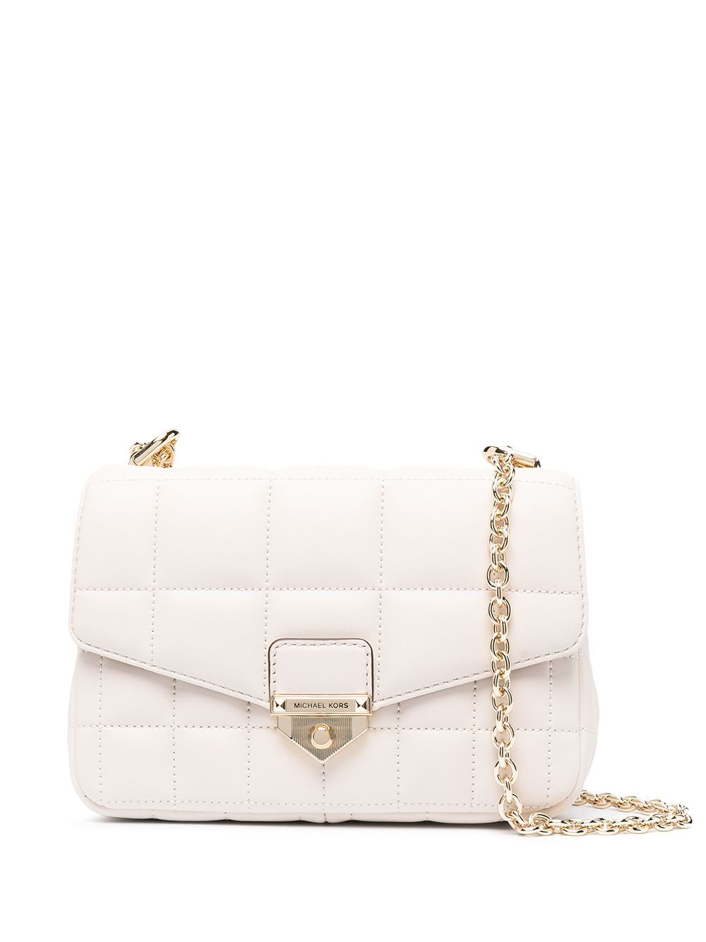Michael Kors MICHAEL KORS WOMEN'S 30H0L1SL1T289 BEIGE LEATHER SHOULDER BAG