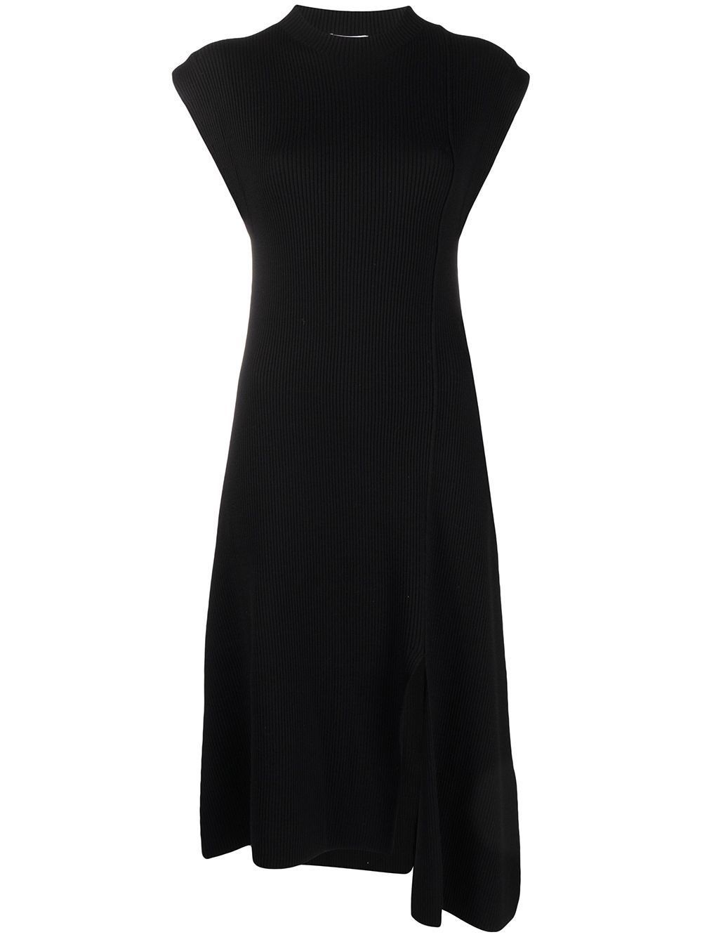 KENZO KENZO WOMEN'S FB52RO5523AD99 BLACK POLYESTER DRESS