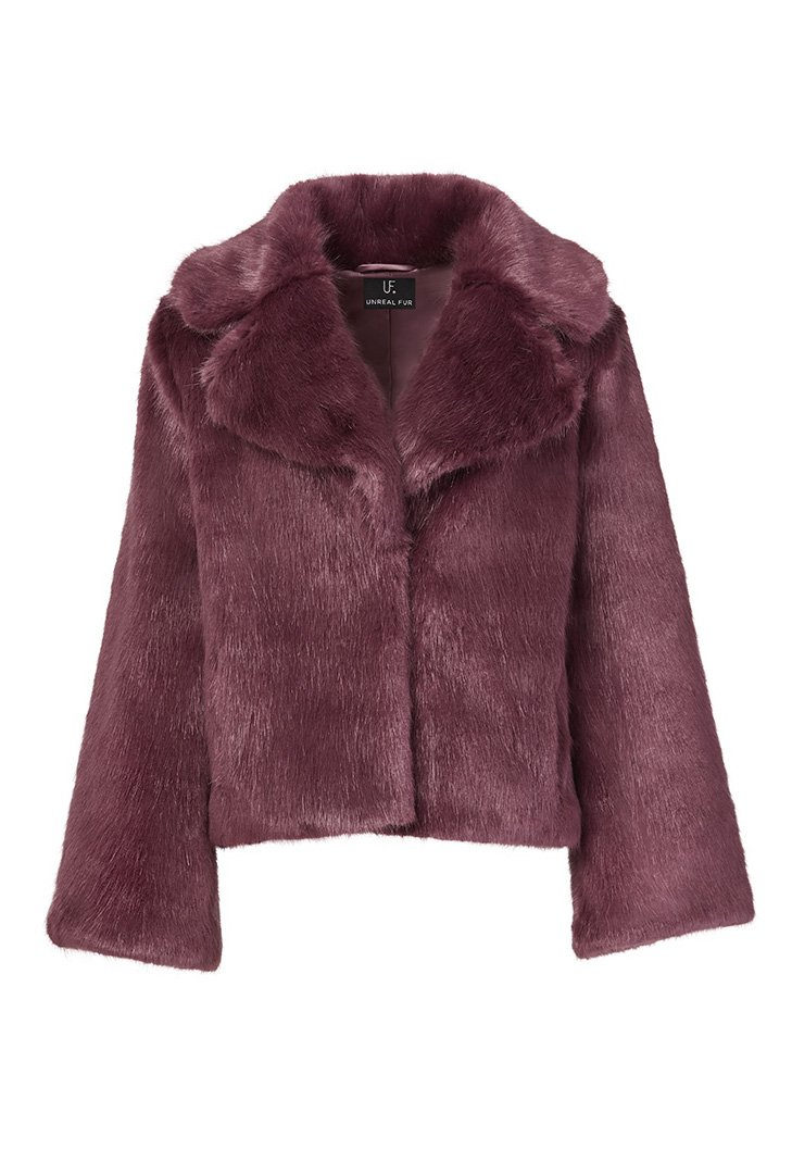 Unreal Fur Clothing MADAM BUTTERFLY IN WINE