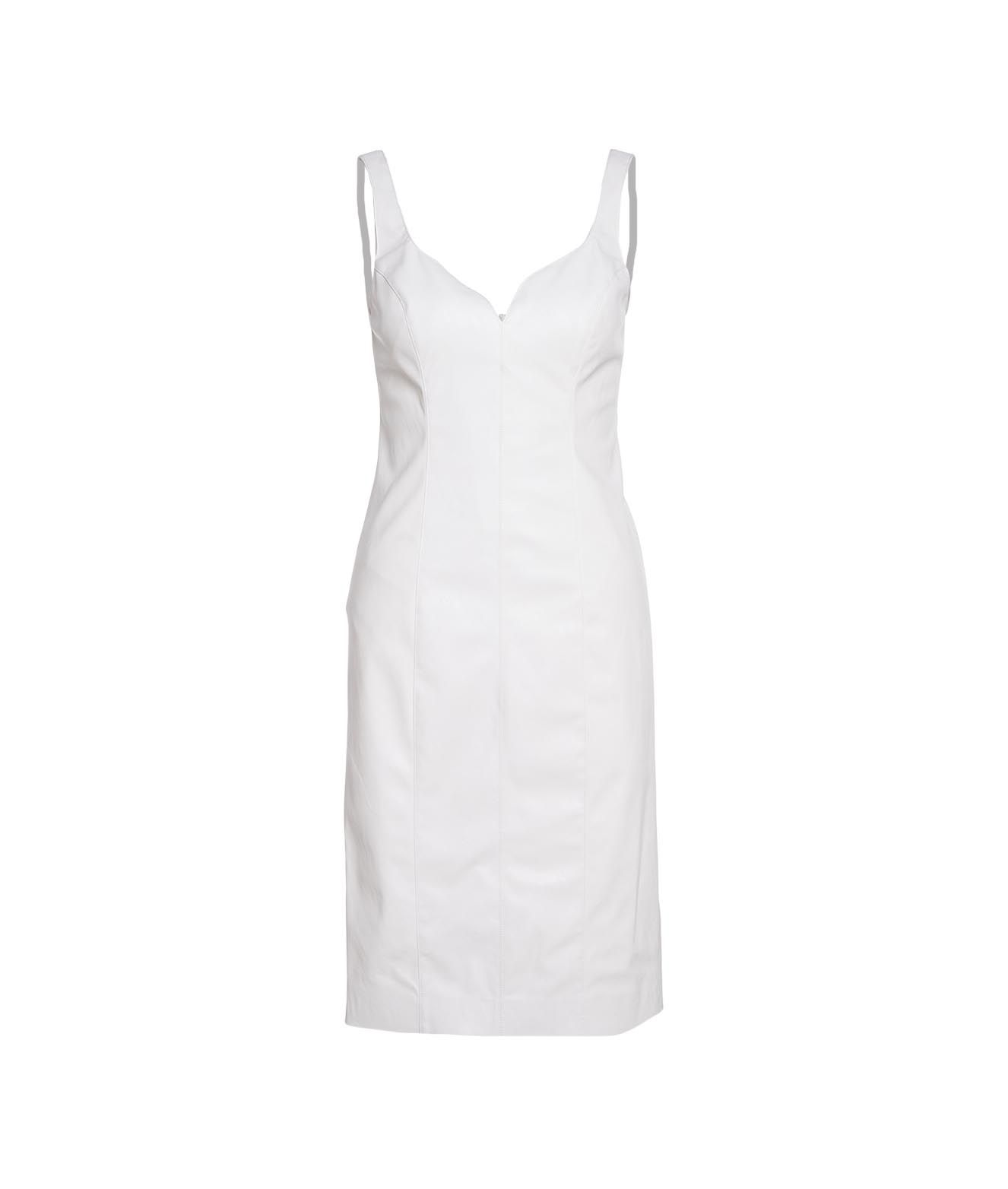 """Pinko DRESS """"PUDICO"""" IN FAUX LEATHER"""