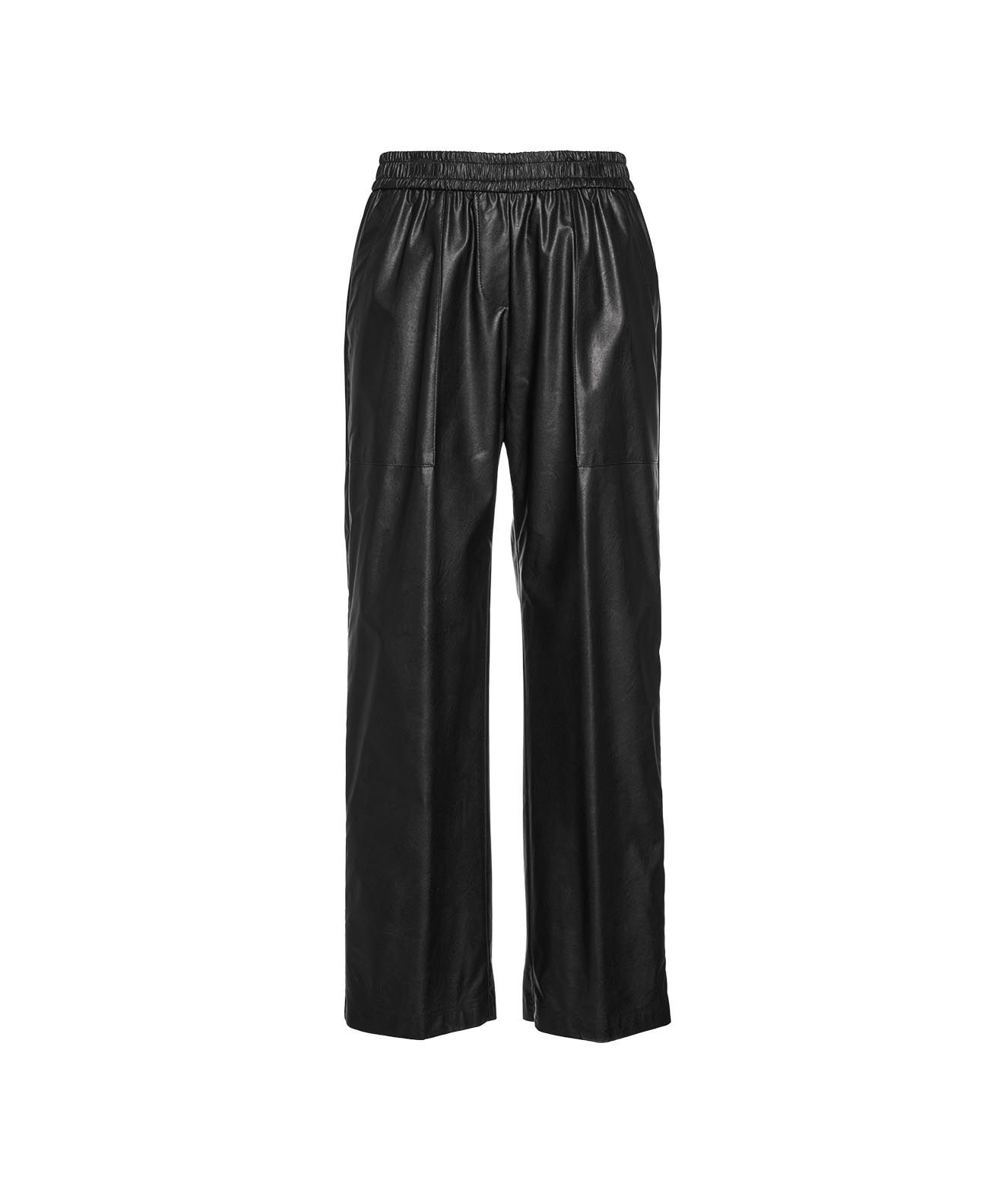 Nude PANTS IN ECO LEATHER