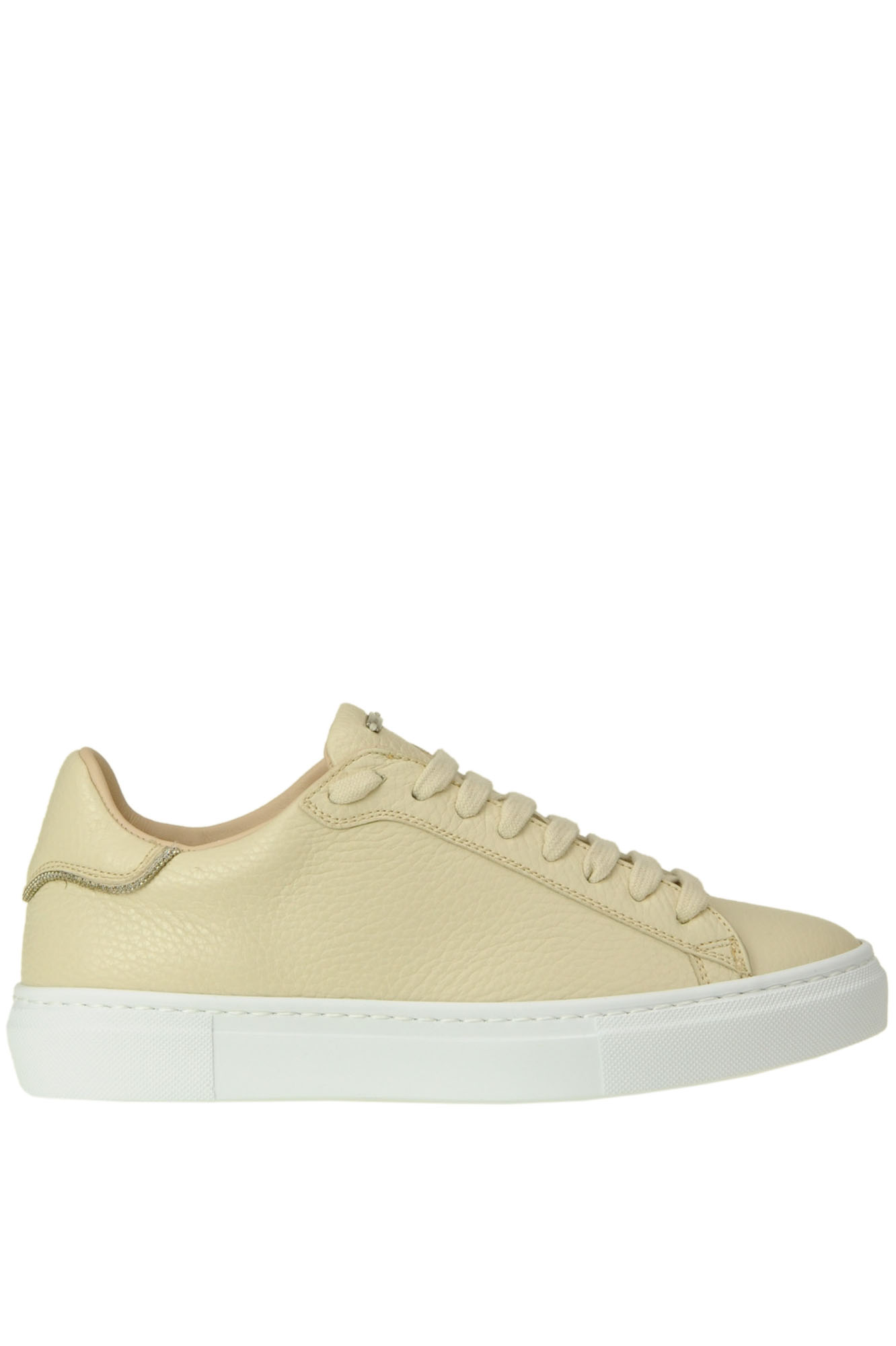 Fabiana Filippi GRAINY LEATHER SNEAKERS