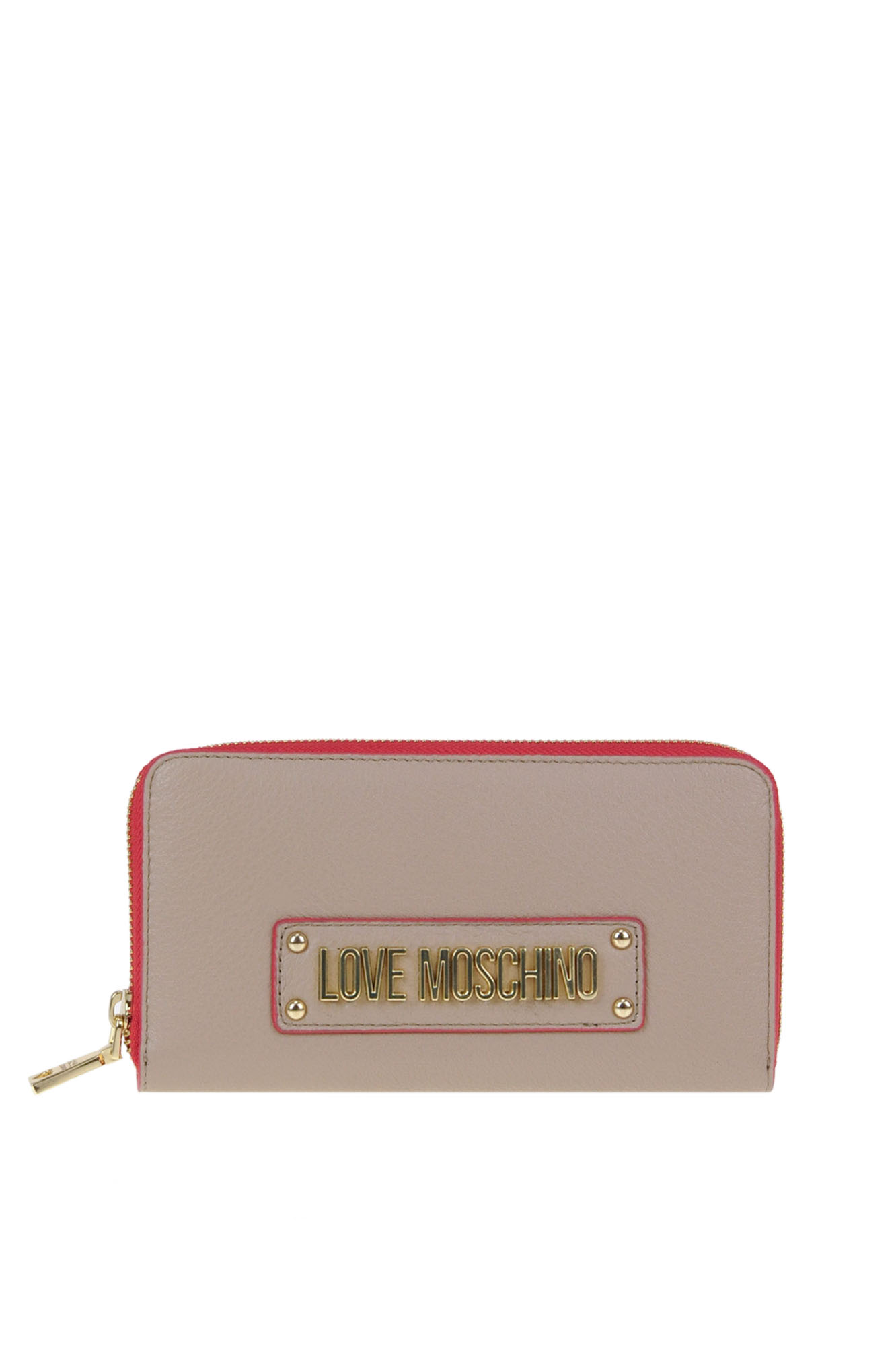 Love Moschino GRAINY LEATHER WALLET