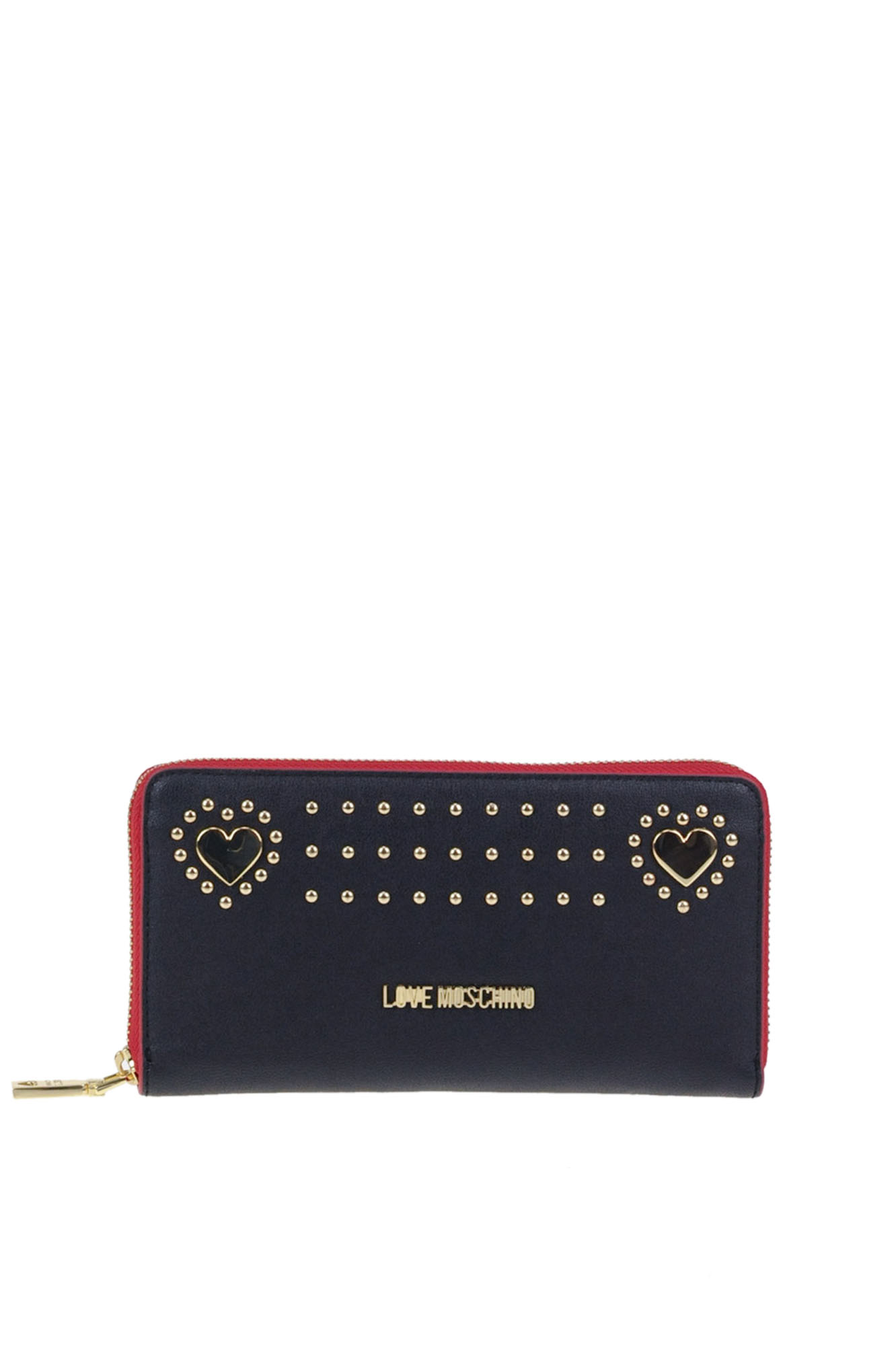 Love Moschino STUDDED ECO-LEATHER WALLET