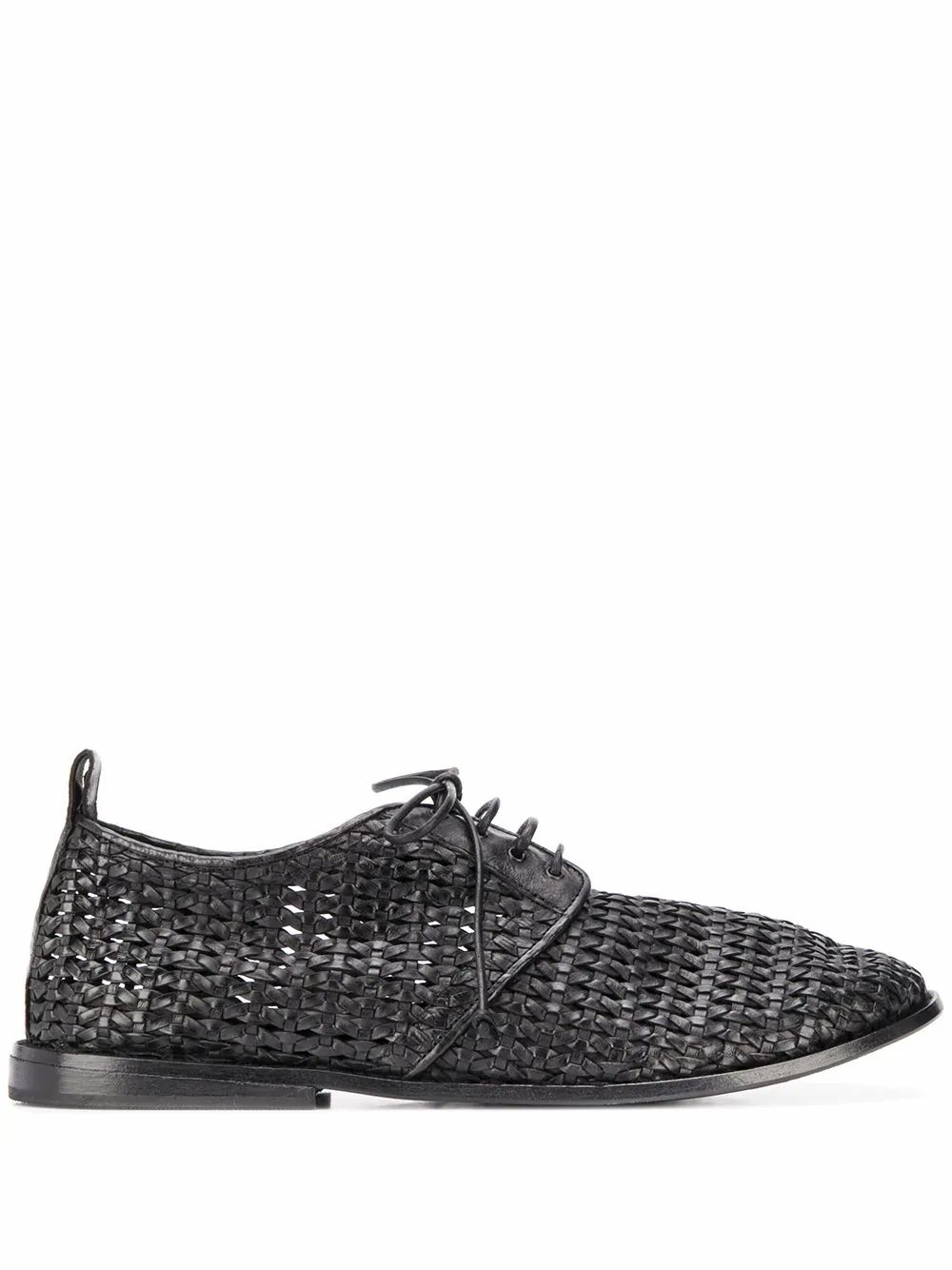 Marsèll Leathers MARSELL MEN'S MM3078900666S661 BLACK LEATHER LACE-UP SHOES