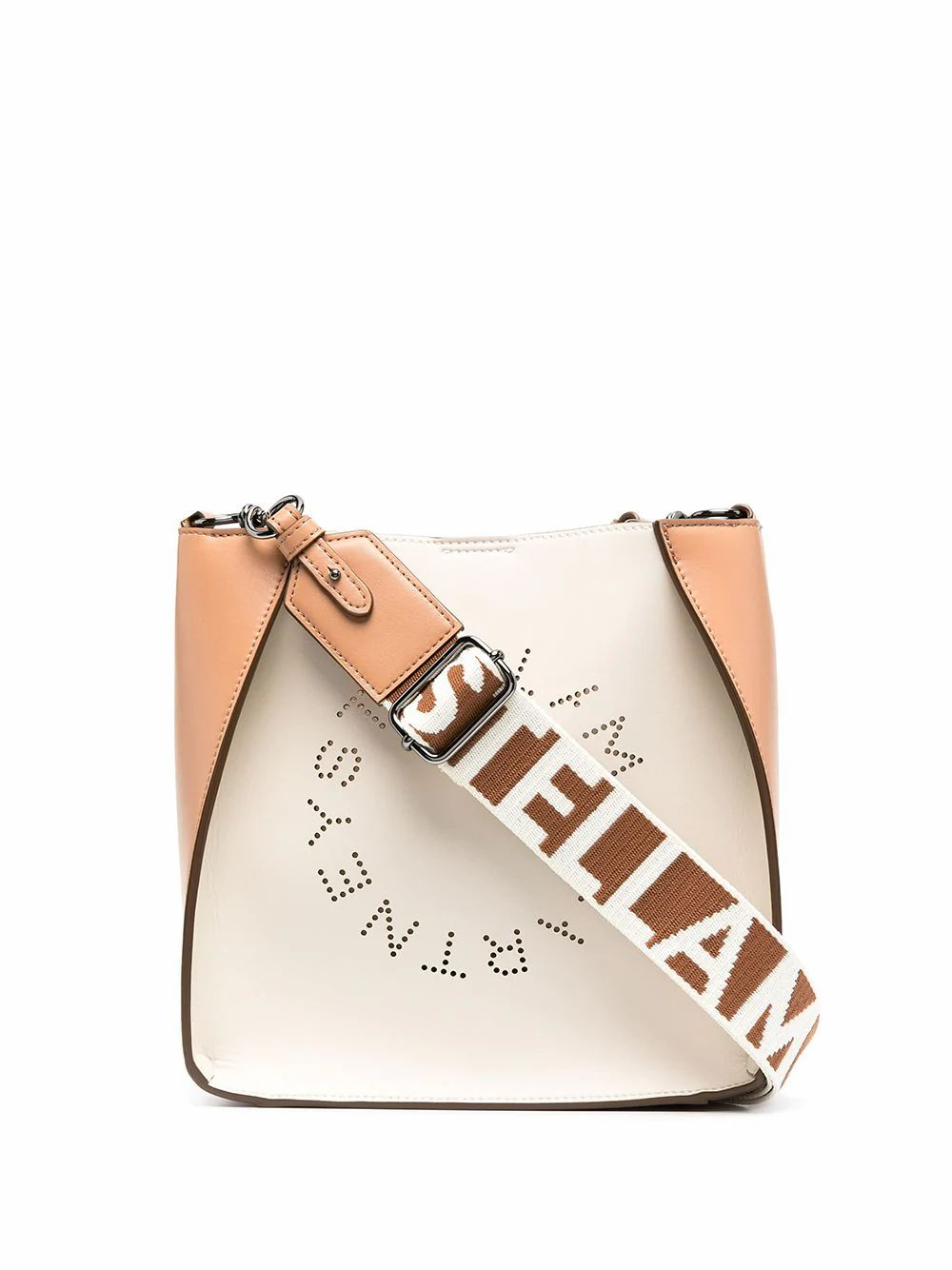 Stella Mccartney STELLA MCCARTNEY WOMEN'S 700073W8768T843 BEIGE POLYESTER SHOULDER BAG