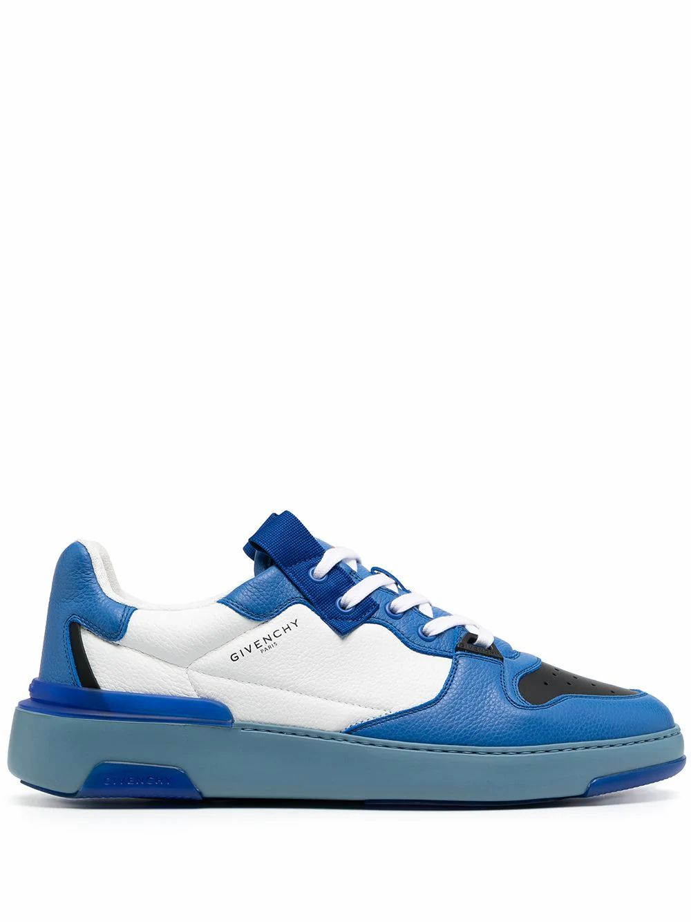 Givenchy GIVENCHY MEN'S BH002KH0SP114 BLUE LEATHER SNEAKERS