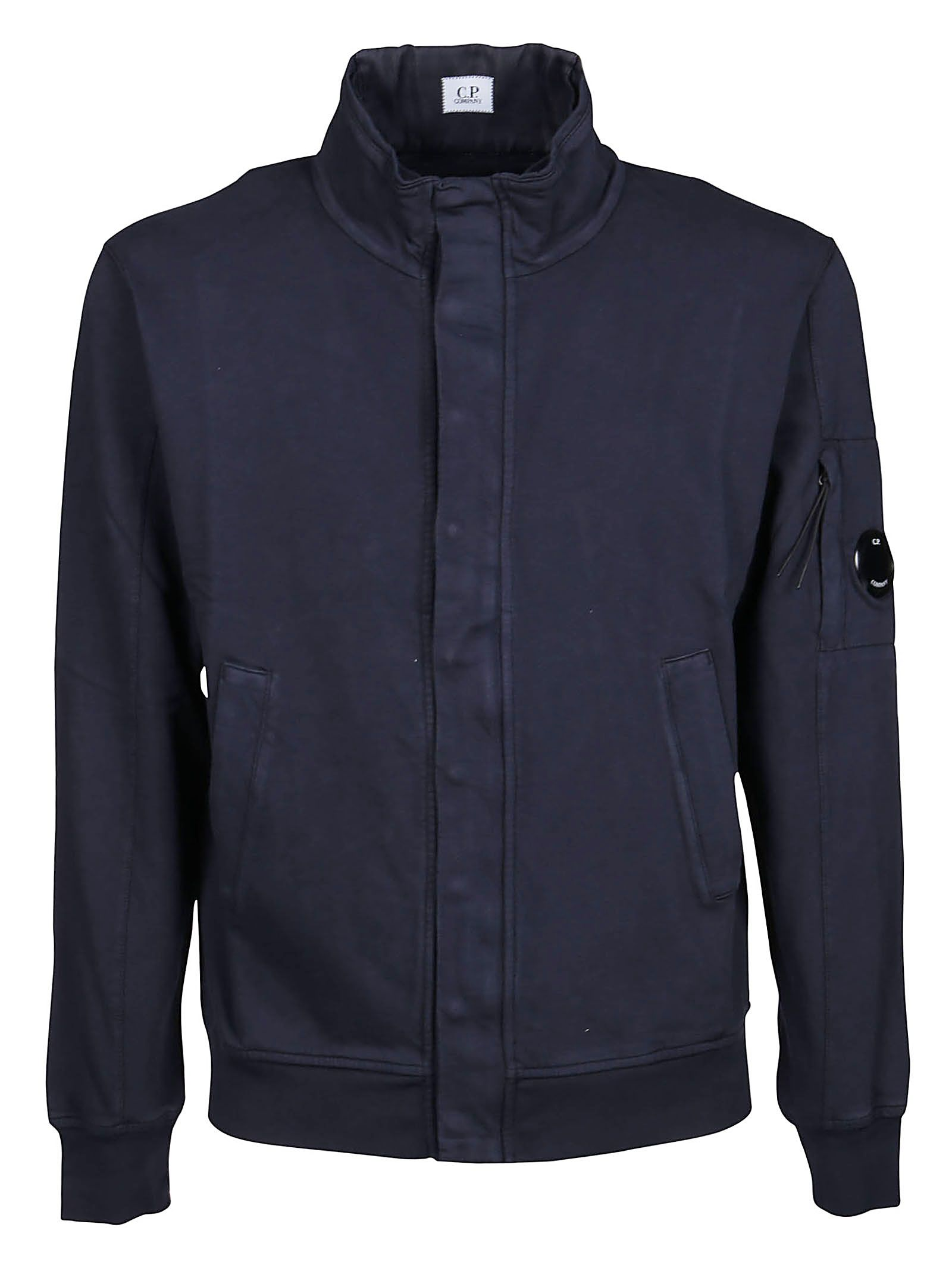 C.p. Company CP COMPANY MEN'S 10CMSS127A002246G888 BLUE OTHER MATERIALS SWEATSHIRT