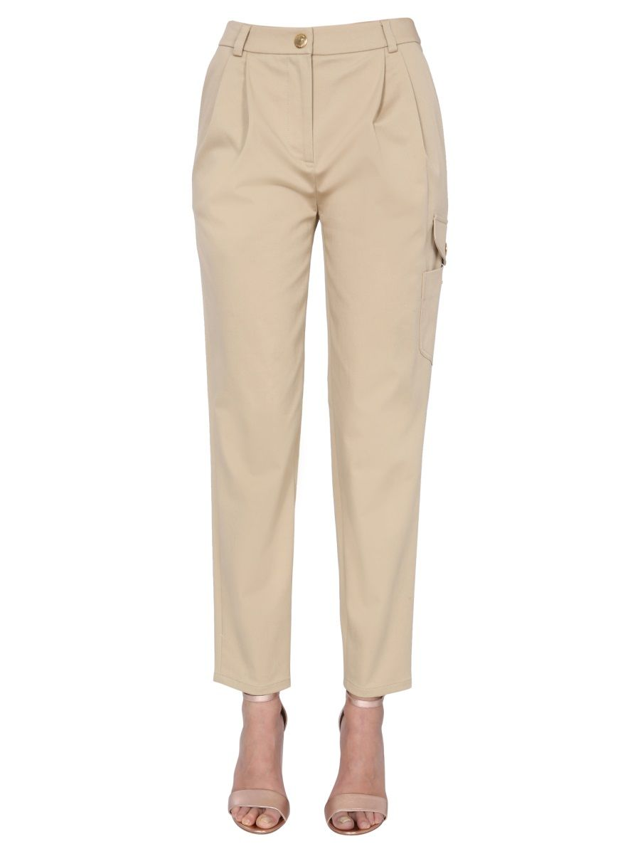 Boutique Moschino BOUTIQUE MOSCHINO WOMEN'S 030508200081 BEIGE OTHER MATERIALS PANTS