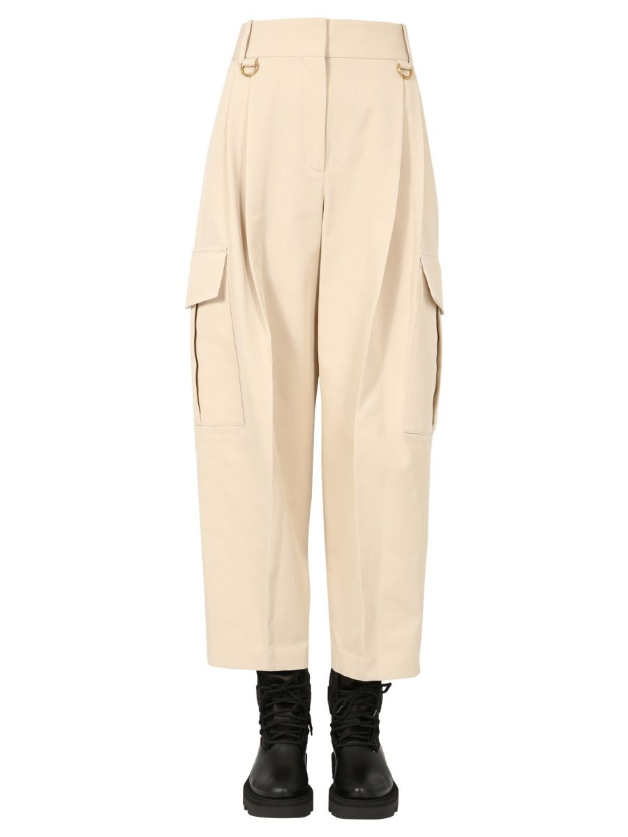 Givenchy Cottons GIVENCHY WOMEN'S BW50NA11QN286 WHITE OTHER MATERIALS PANTS