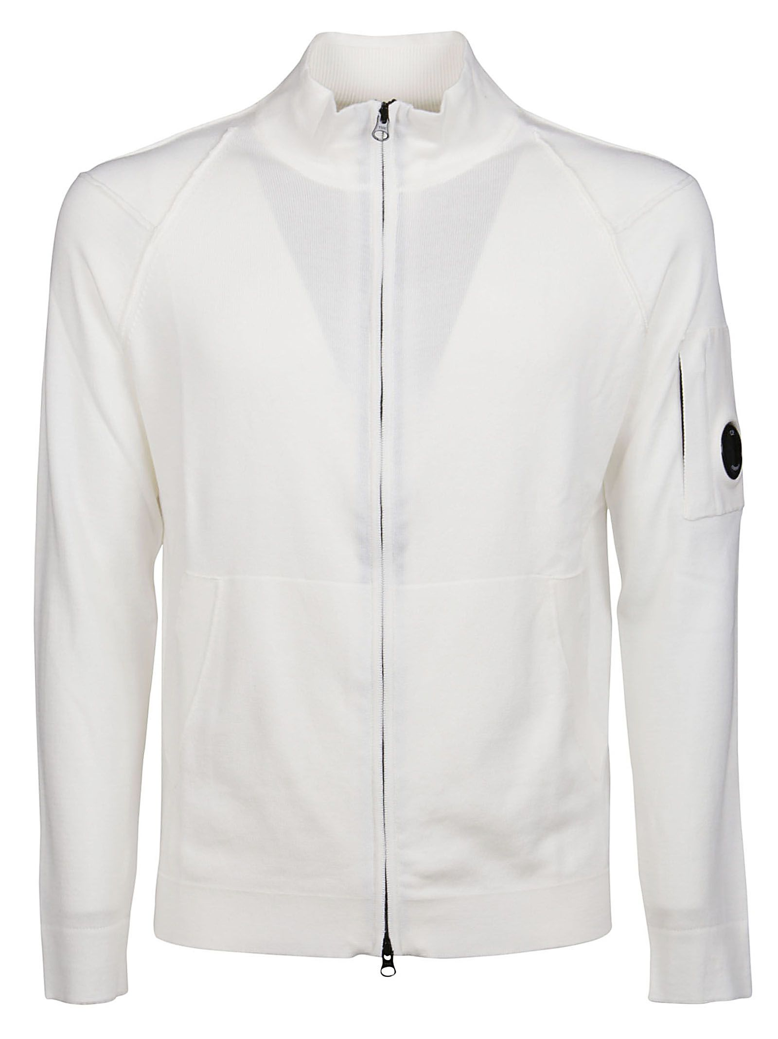 C.p. Company CP COMPANY MEN'S 10CMKN145A004037A103 WHITE OTHER MATERIALS CARDIGAN