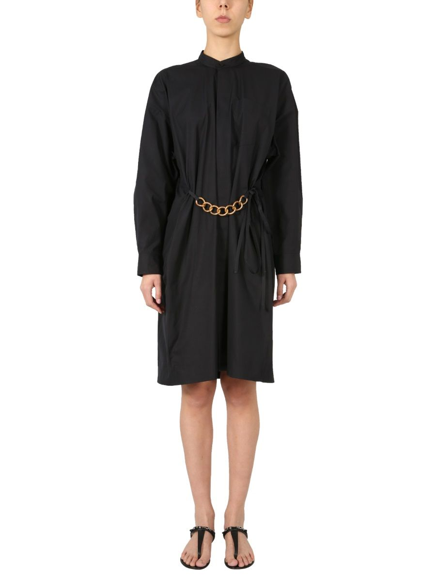 Givenchy GIVENCHY WOMEN'S BW212X130A001 BLACK OTHER MATERIALS DRESS