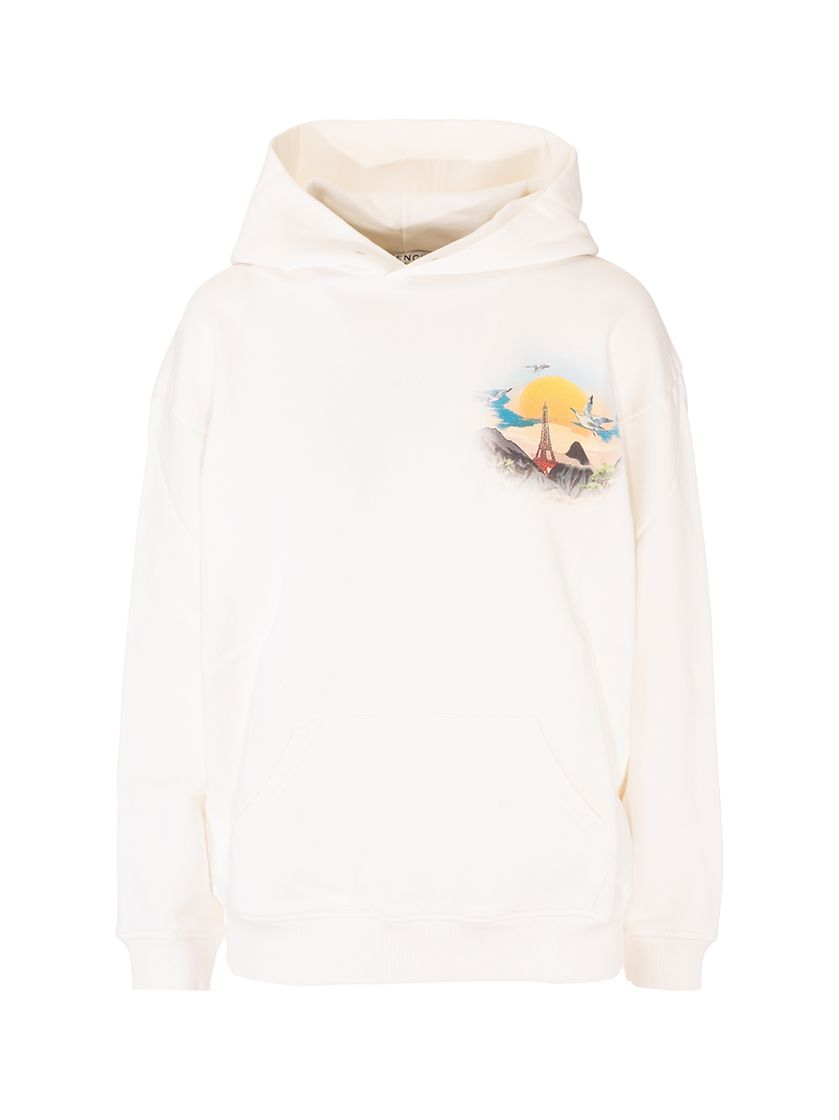Givenchy GIVENCHY WOMEN'S BWJ01C3Z4P105 WHITE OTHER MATERIALS SWEATSHIRT