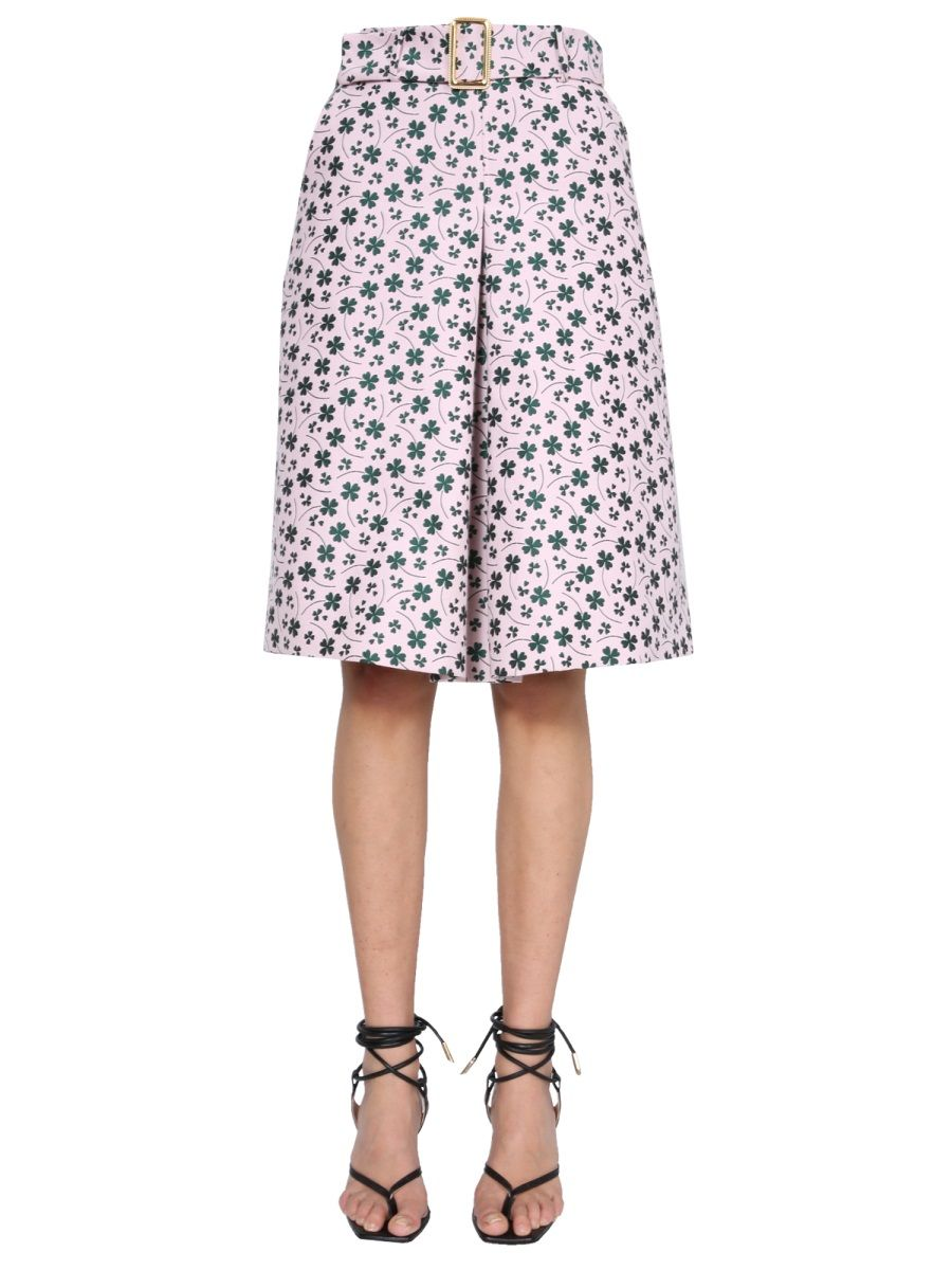 Boutique Moschino BOUTIQUE MOSCHINO WOMEN'S 011611461223 PINK OTHER MATERIALS SKIRT