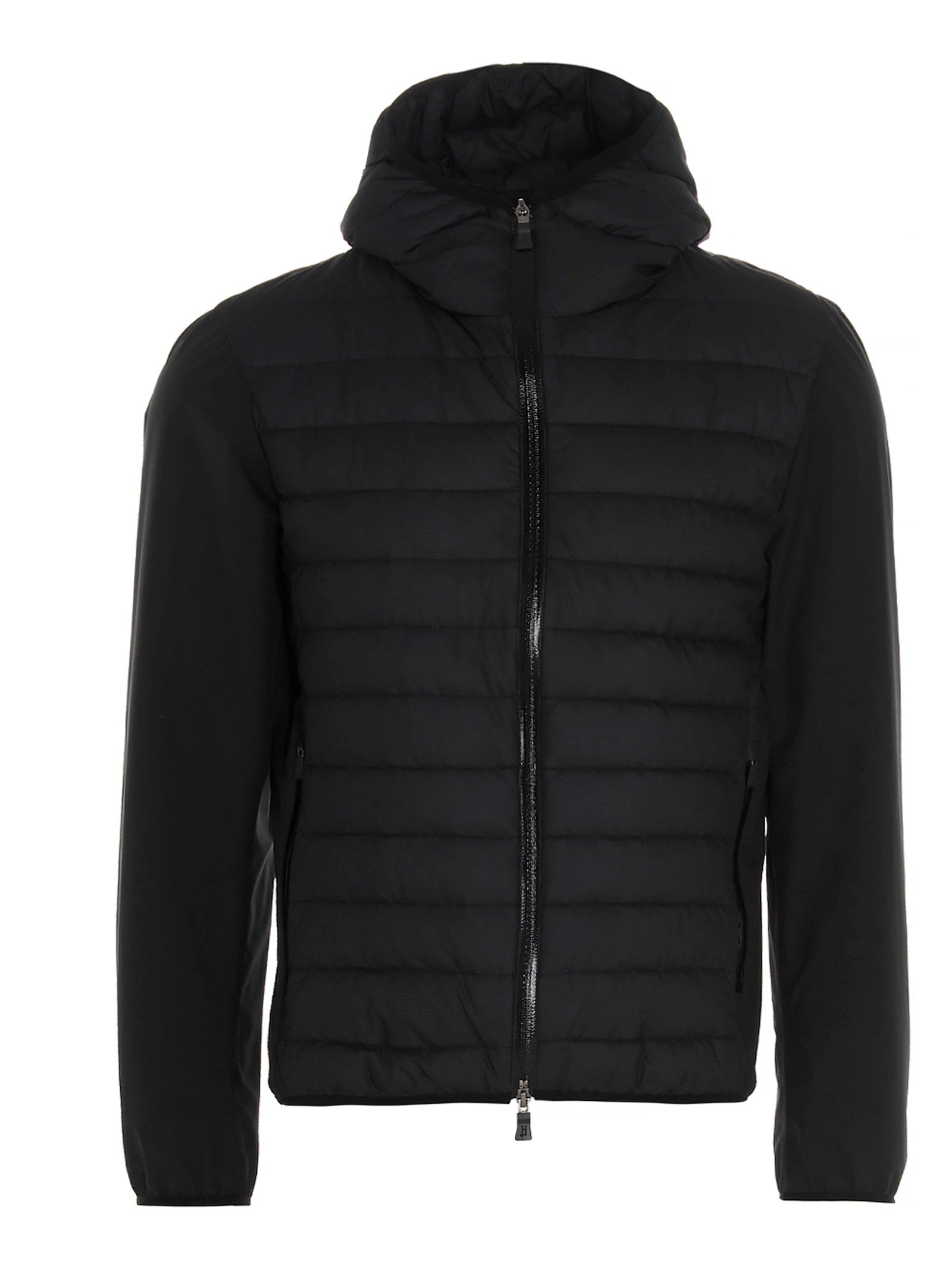 Herno HERNO MEN'S PI180UL123949300 BLACK OTHER MATERIALS OUTERWEAR JACKET