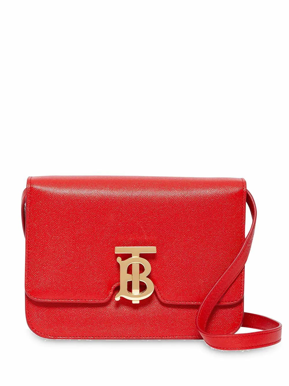 Burberry BURBERRY WOMEN'S 8019339 RED LEATHER SHOULDER BAG