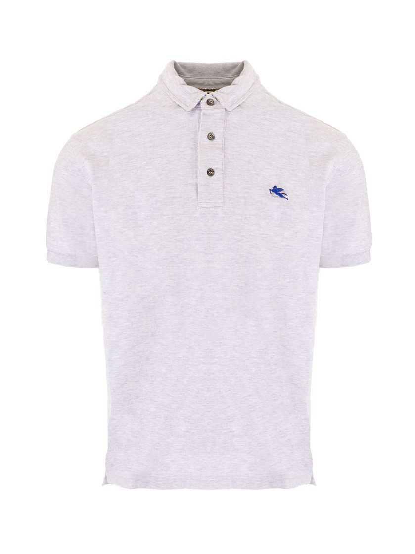 Etro Shirts ETRO MEN'S 1Y14198710003 GREY OTHER MATERIALS POLO SHIRT