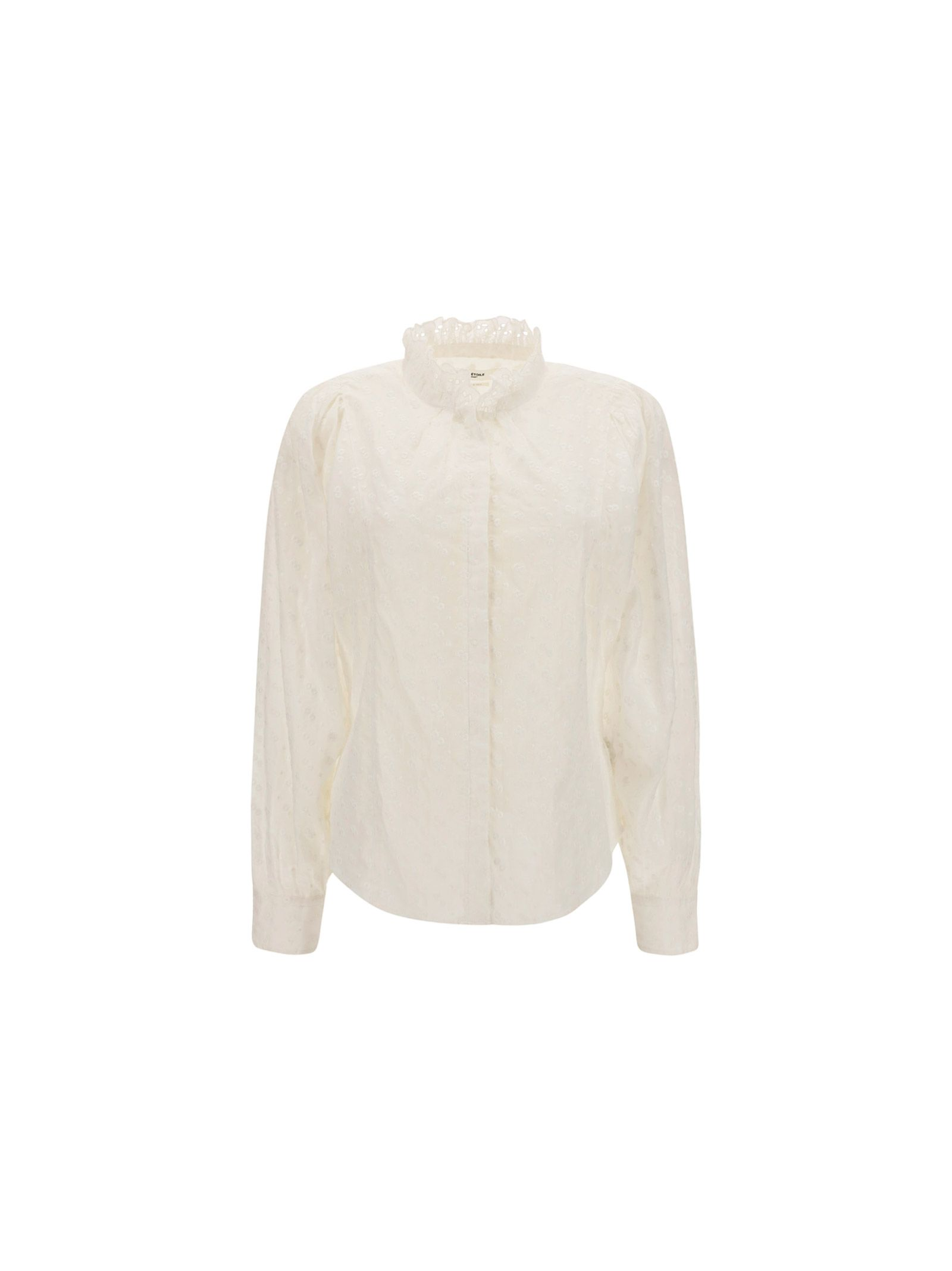 Isabel Marant ISABEL MARANT WOMEN'S HT203921P032E20WH WHITE OTHER MATERIALS SHIRT