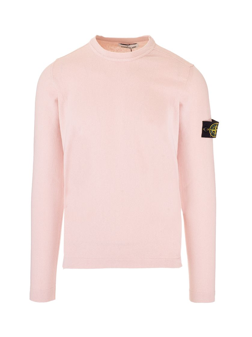 Stone Island STONE ISLAND MEN'S 7415532B9V0082 PINK OTHER MATERIALS SWEATER