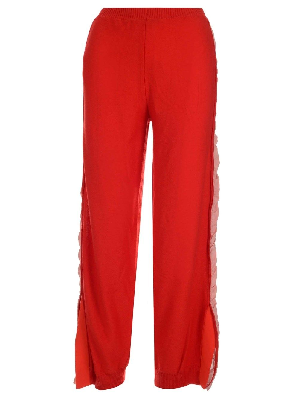 Stella Mccartney STELLA MCCARTNEY WOMEN'S 581719S22356515 RED OTHER MATERIALS PANTS