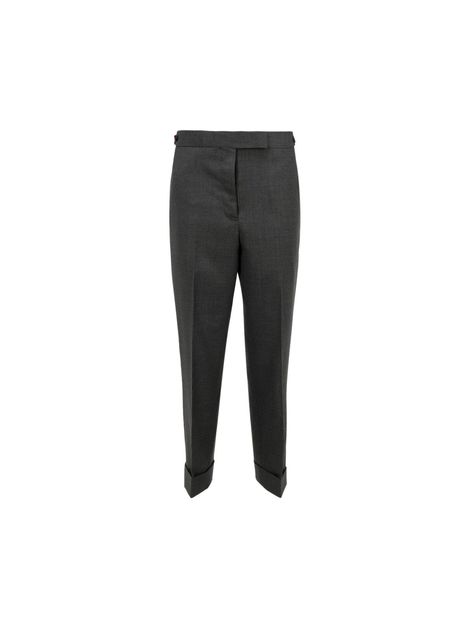 Thom Browne Straight pants THOM BROWNE WOMEN'S FTC392A00626035 GREY OTHER MATERIALS PANTS