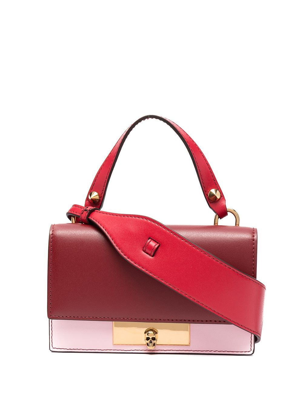 Alexander Mcqueen ALEXANDER MCQUEEN WOMEN'S 6282591LYAZ8495 RED LEATHER HANDBAG