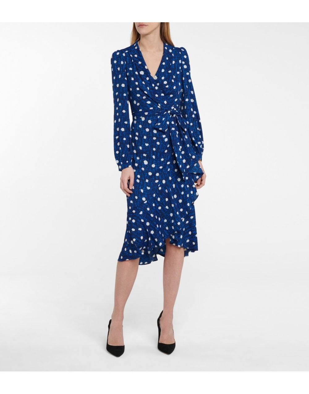 Diane Von Furstenberg Carla Two Printed Midi Dress