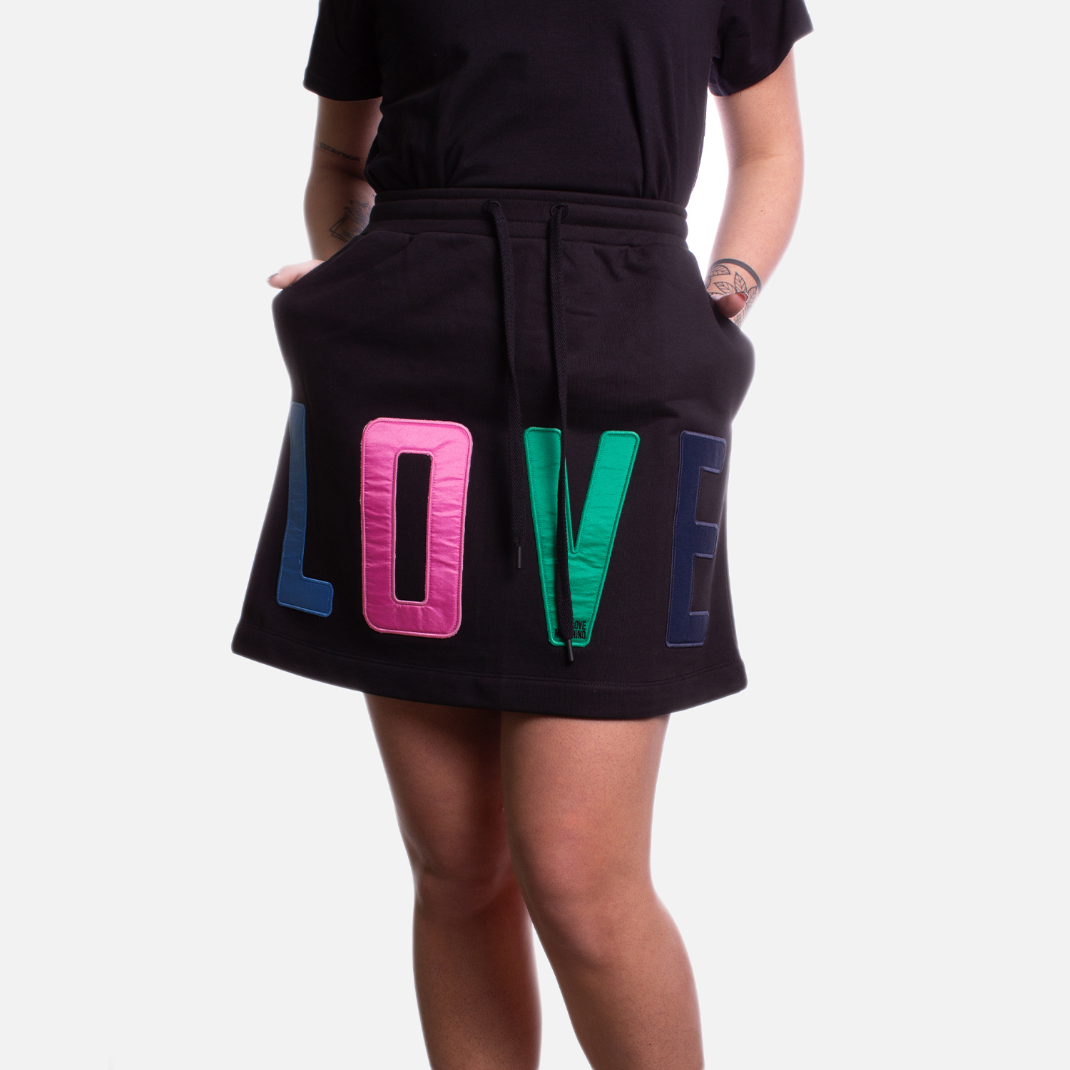 Love Moschino Clothing SKIRT MULTICOLOR PRINTING