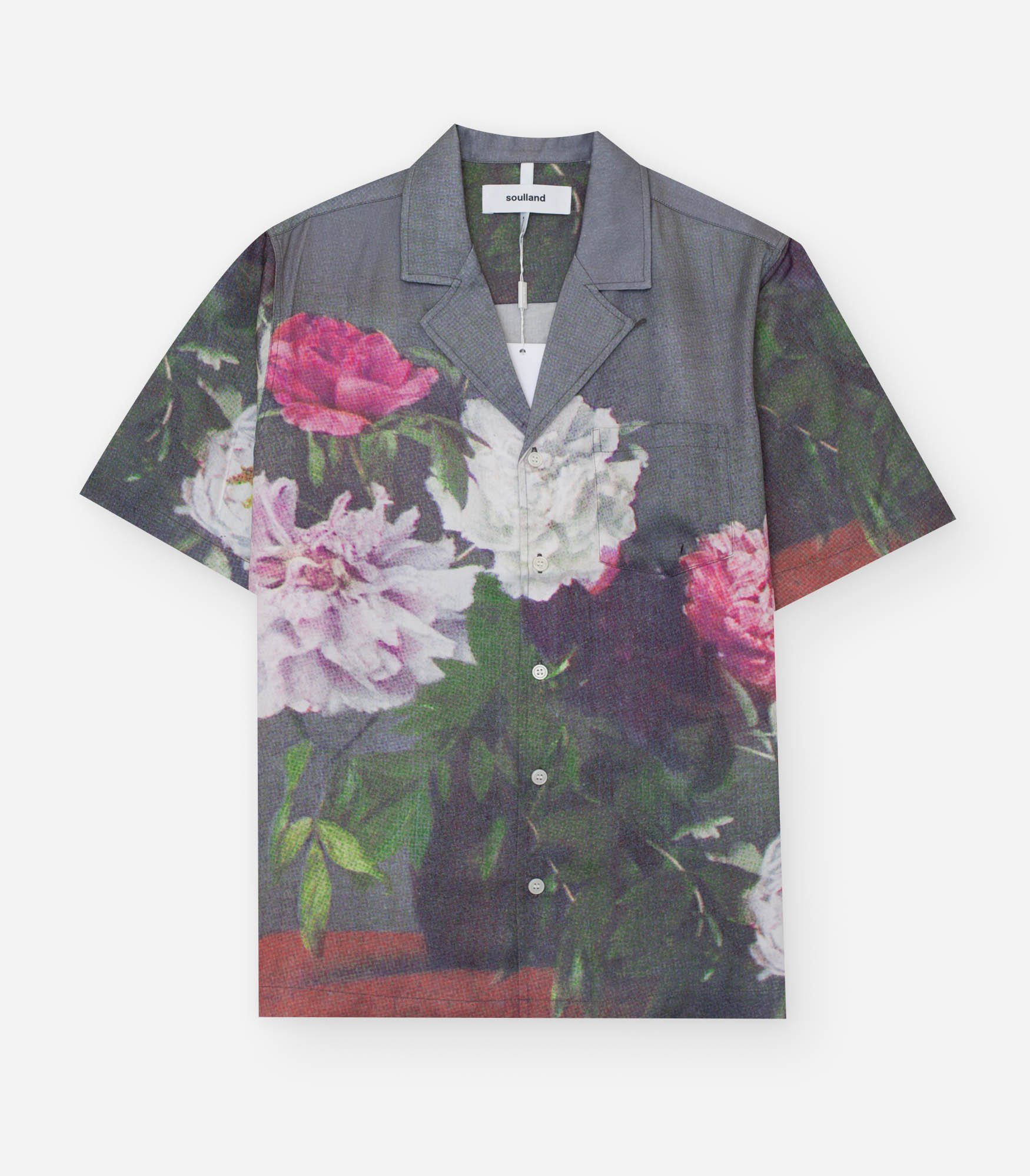 Soulland Clothing ORSON SHIRT FLOWERS