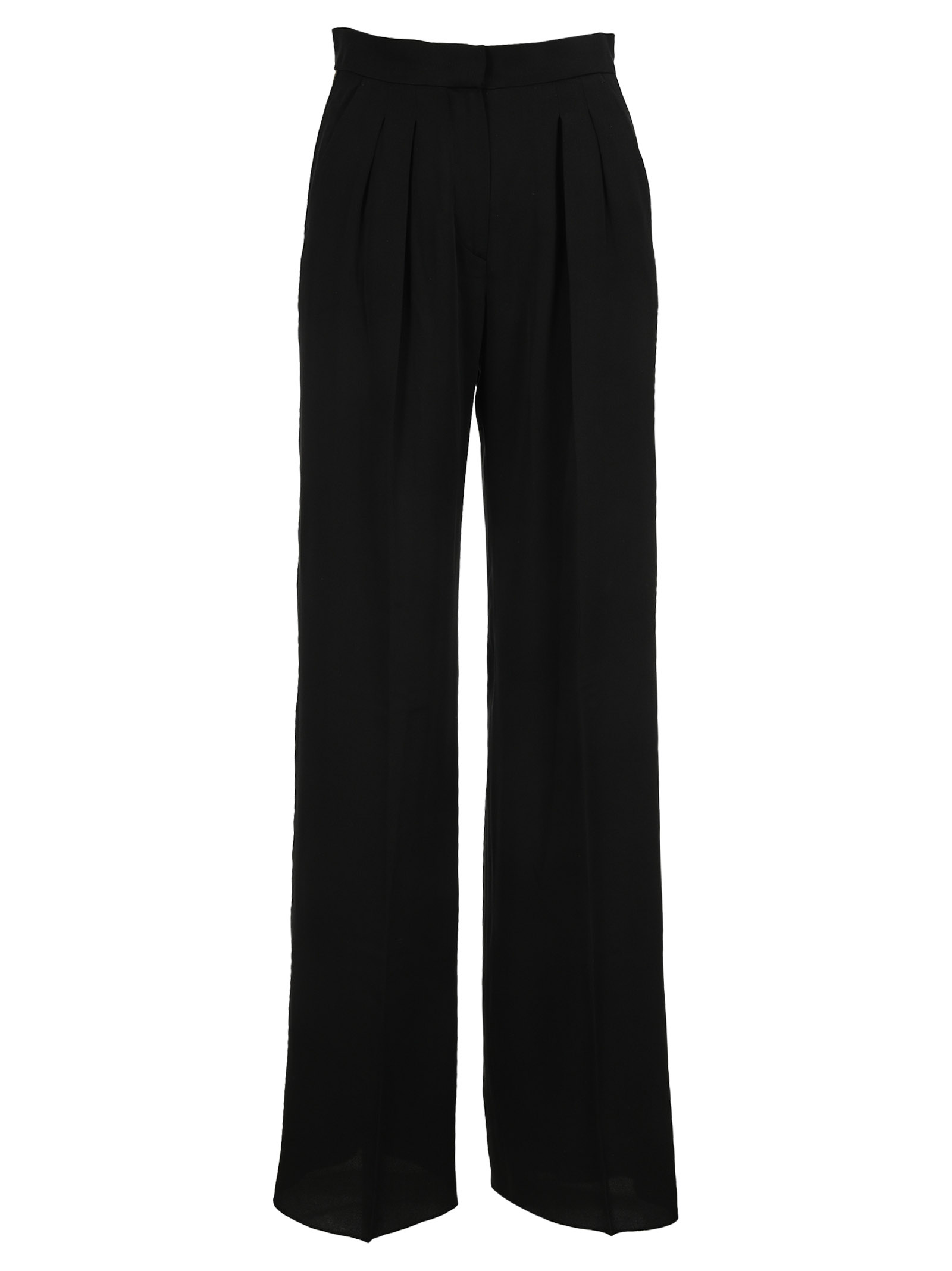 Max Mara HIGH WAISTED CONTRASTING TRIM TROUSERS