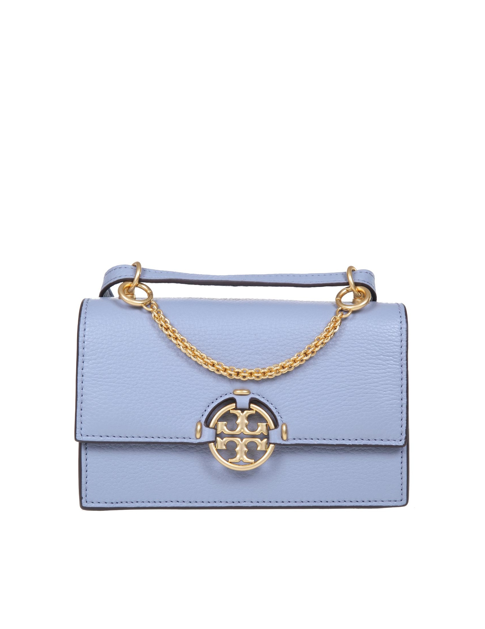Tory Burch Leathers TORY BURCH BOSA MILLER MINI IN LEATHER
